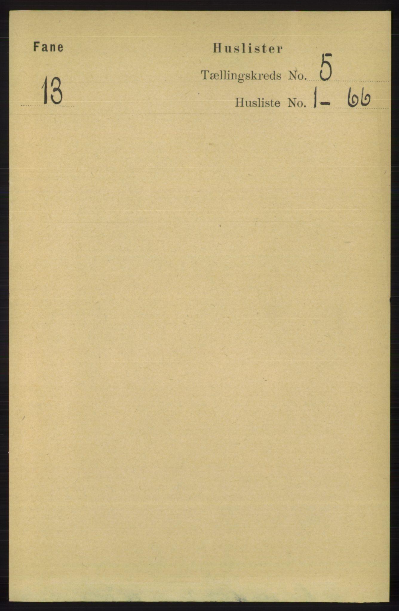 RA, Folketelling 1891 for 1249 Fana herred, 1891, s. 1979