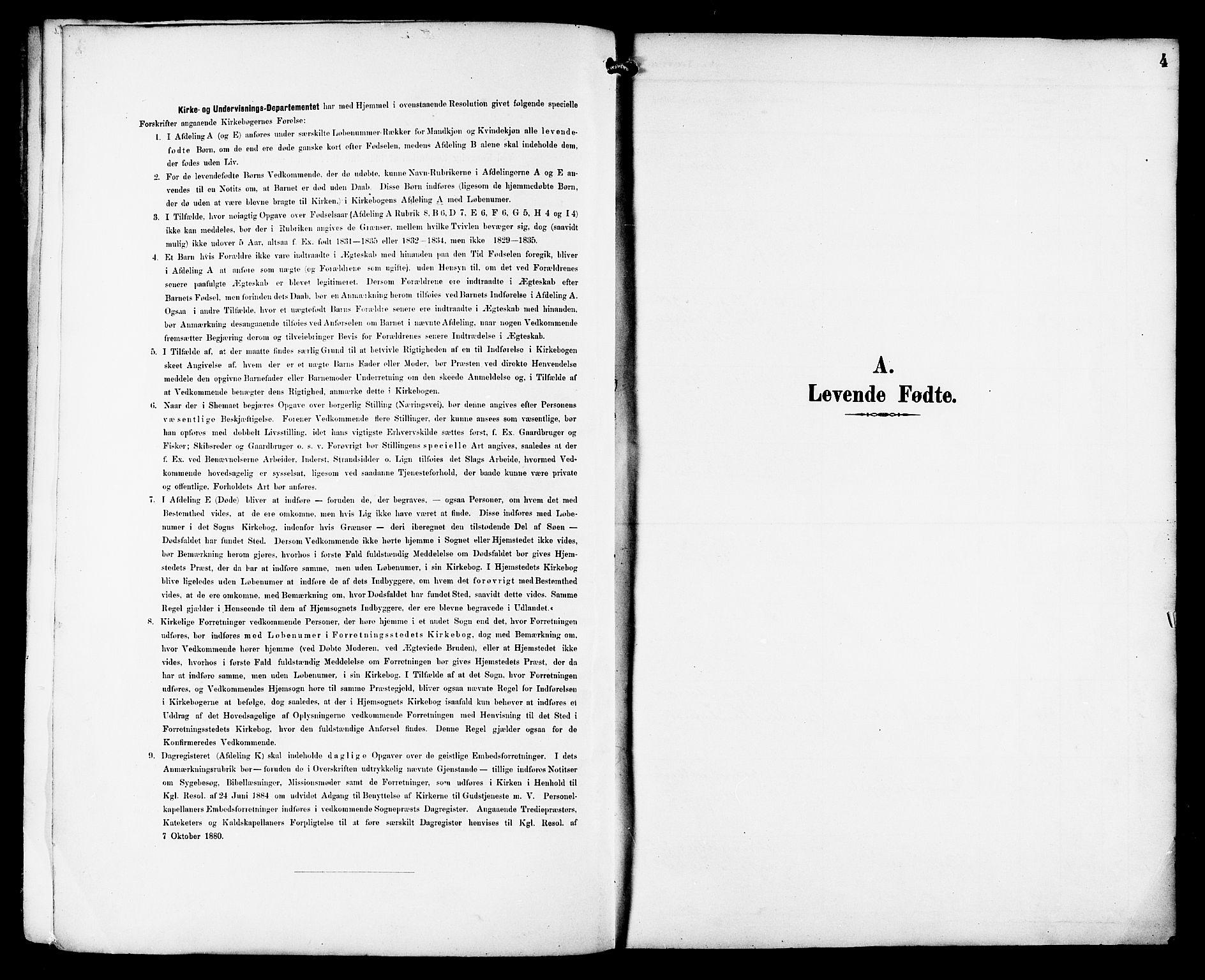 SAT, Ministerialprotokoller, klokkerbøker og fødselsregistre - Sør-Trøndelag, 659/L0746: Klokkerbok nr. 659C03, 1893-1912, s. 4