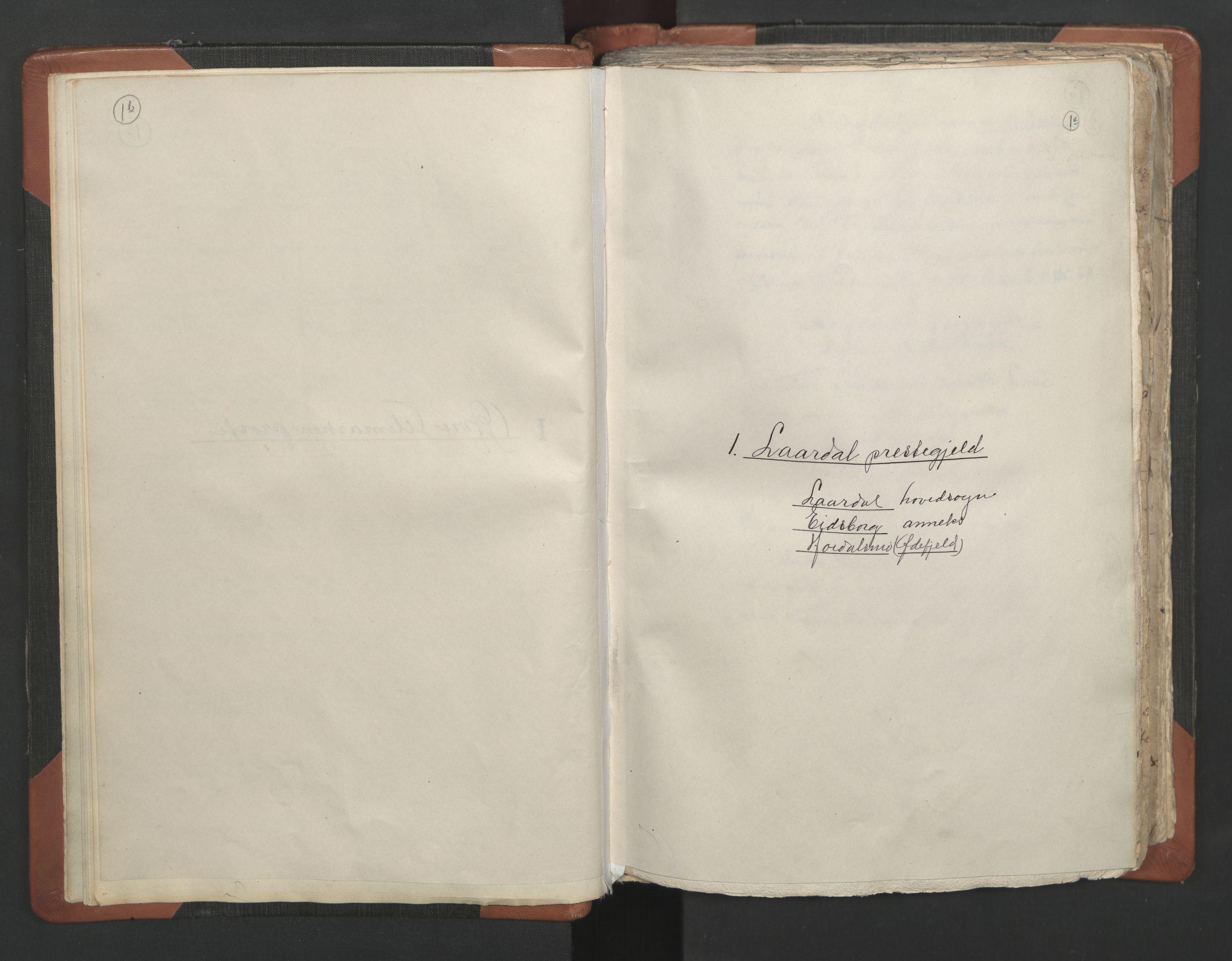 RA, Sogneprestenes manntall 1664-1666, nr. 12: Øvre Telemark prosti, Nedre Telemark prosti og Bamble prosti, 1664-1666, s. 1b-1c