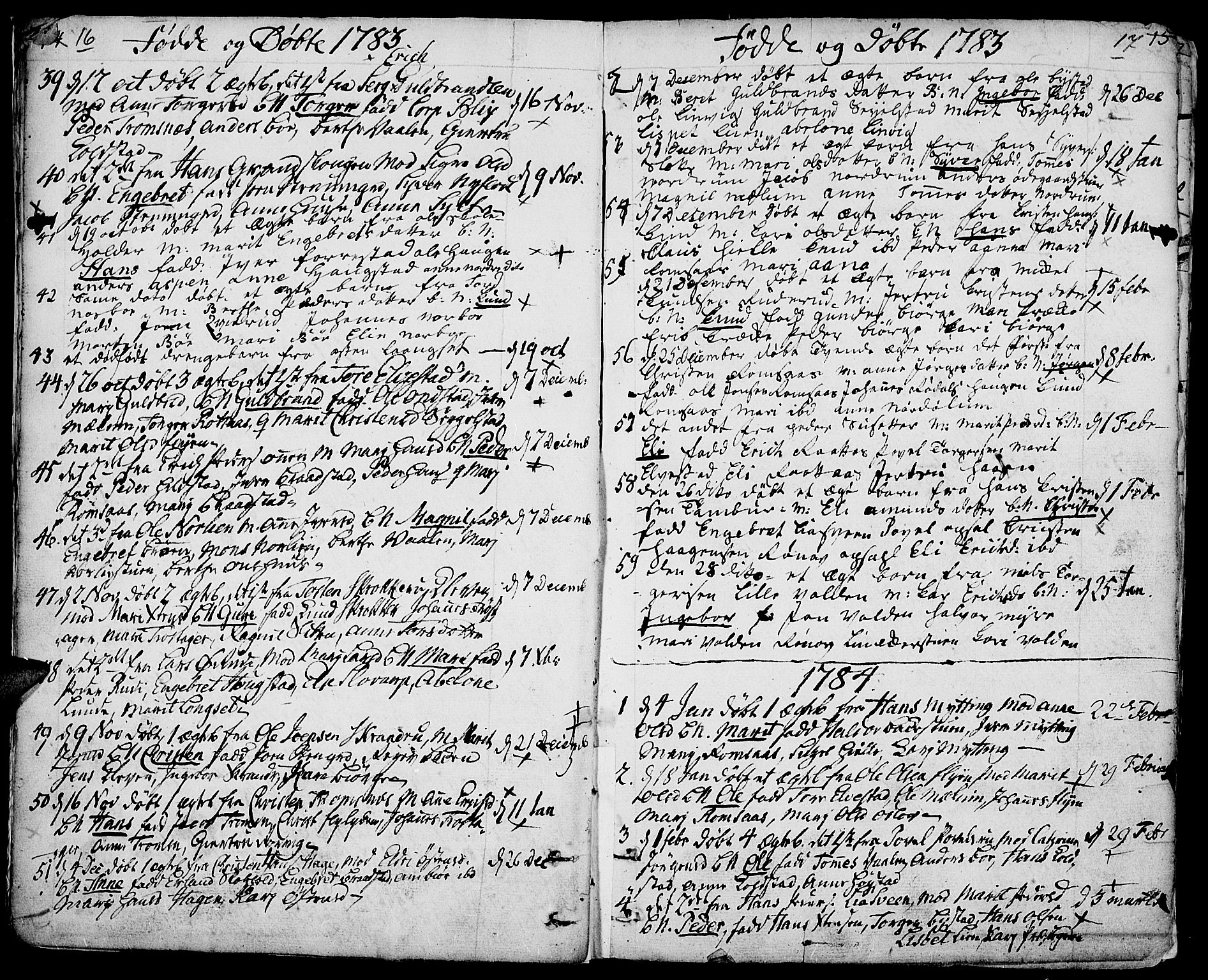 SAH, Ringebu prestekontor, Ministerialbok nr. 3, 1781-1820, s. 16-17