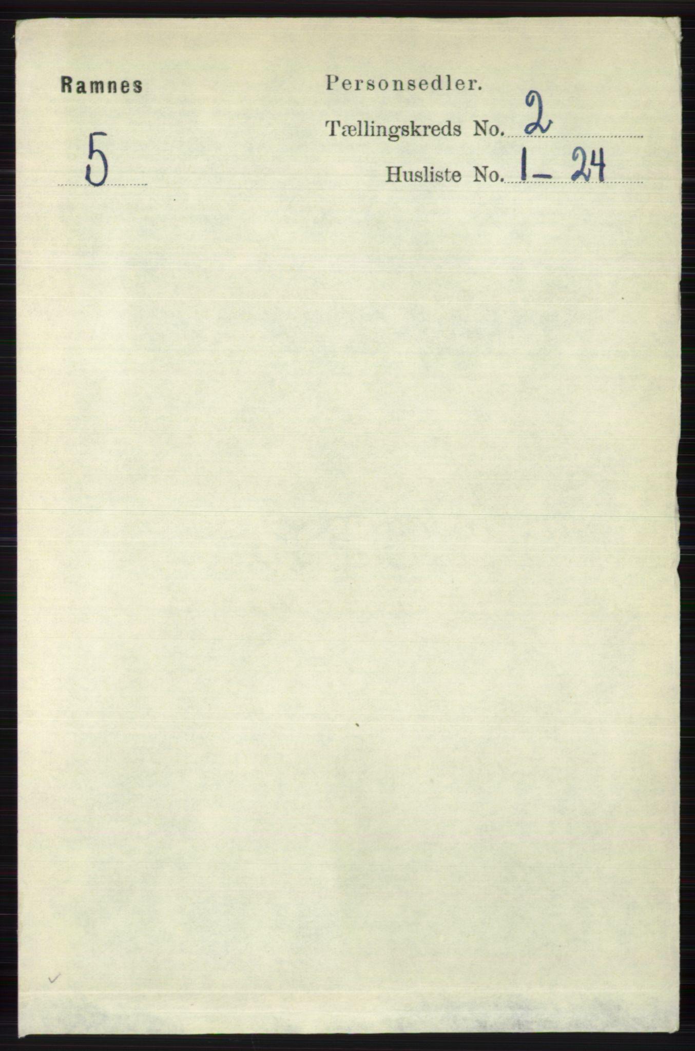 RA, Folketelling 1891 for 0718 Ramnes herred, 1891, s. 567