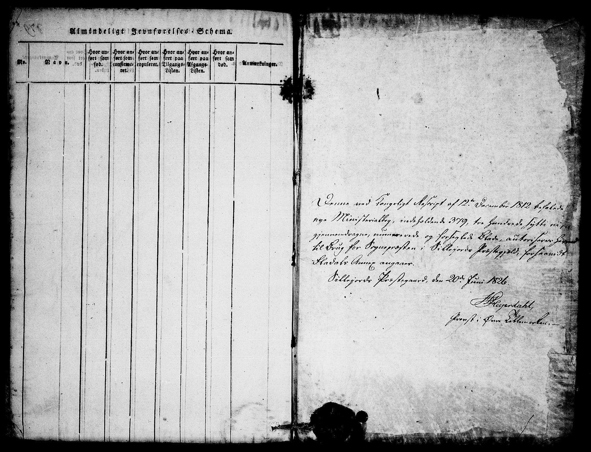 SAKO, Seljord kirkebøker, F/Fb/L0001: Ministerialbok nr. II 1, 1815-1831