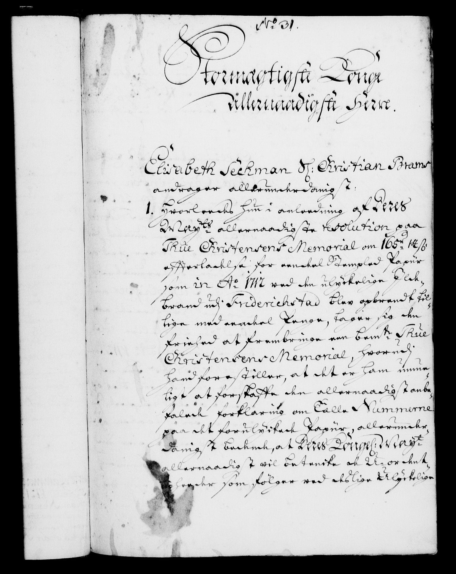 RA, Rentekammeret, Kammerkanselliet, G/Gf/Gfa/L0004: Norsk relasjons- og resolusjonsprotokoll (merket RK 52.4), 1721, s. 243