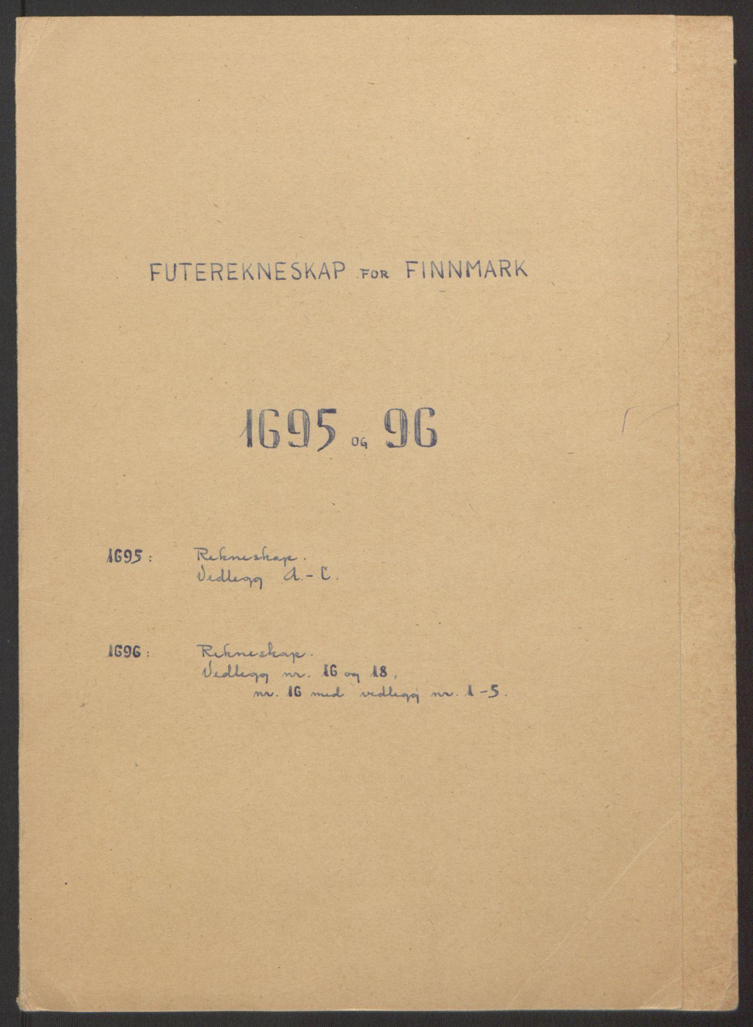 RA, Rentekammeret inntil 1814, Reviderte regnskaper, Fogderegnskap, R69/L4851: Fogderegnskap Finnmark/Vardøhus, 1691-1700, s. 228