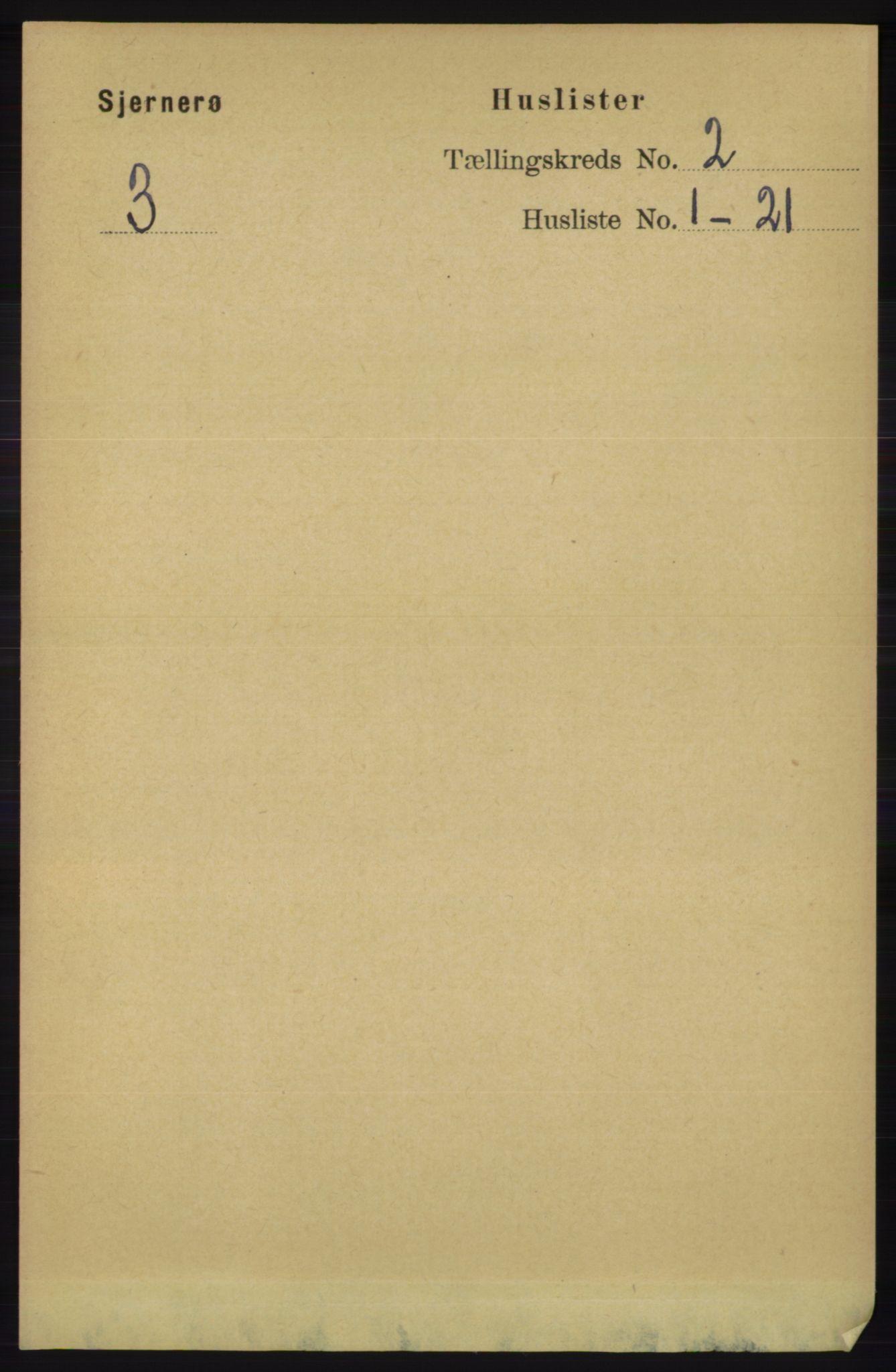 RA, Folketelling 1891 for 1140 Sjernarøy herred, 1891, s. 220