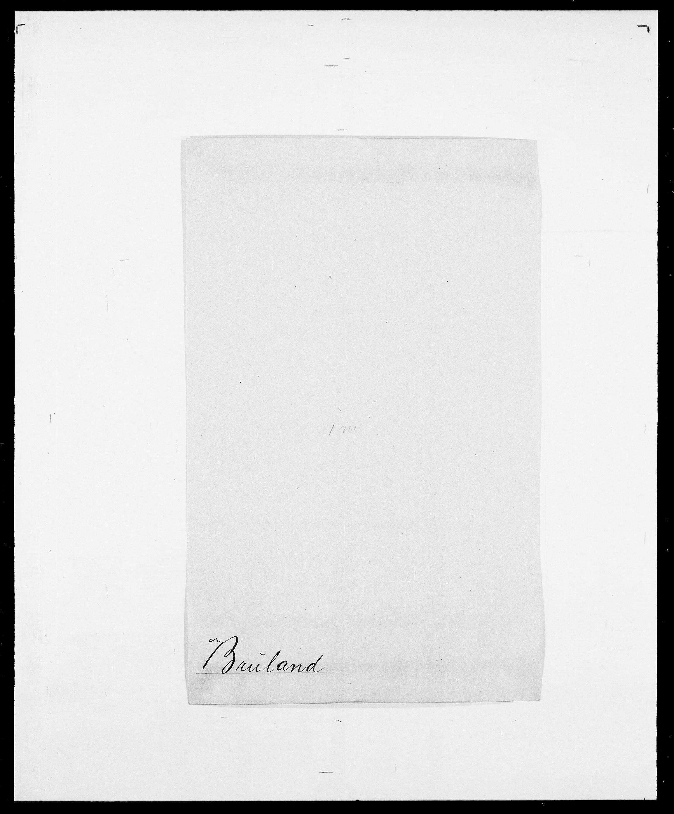 SAO, Delgobe, Charles Antoine - samling, D/Da/L0006: Brambani - Brønø, s. 640