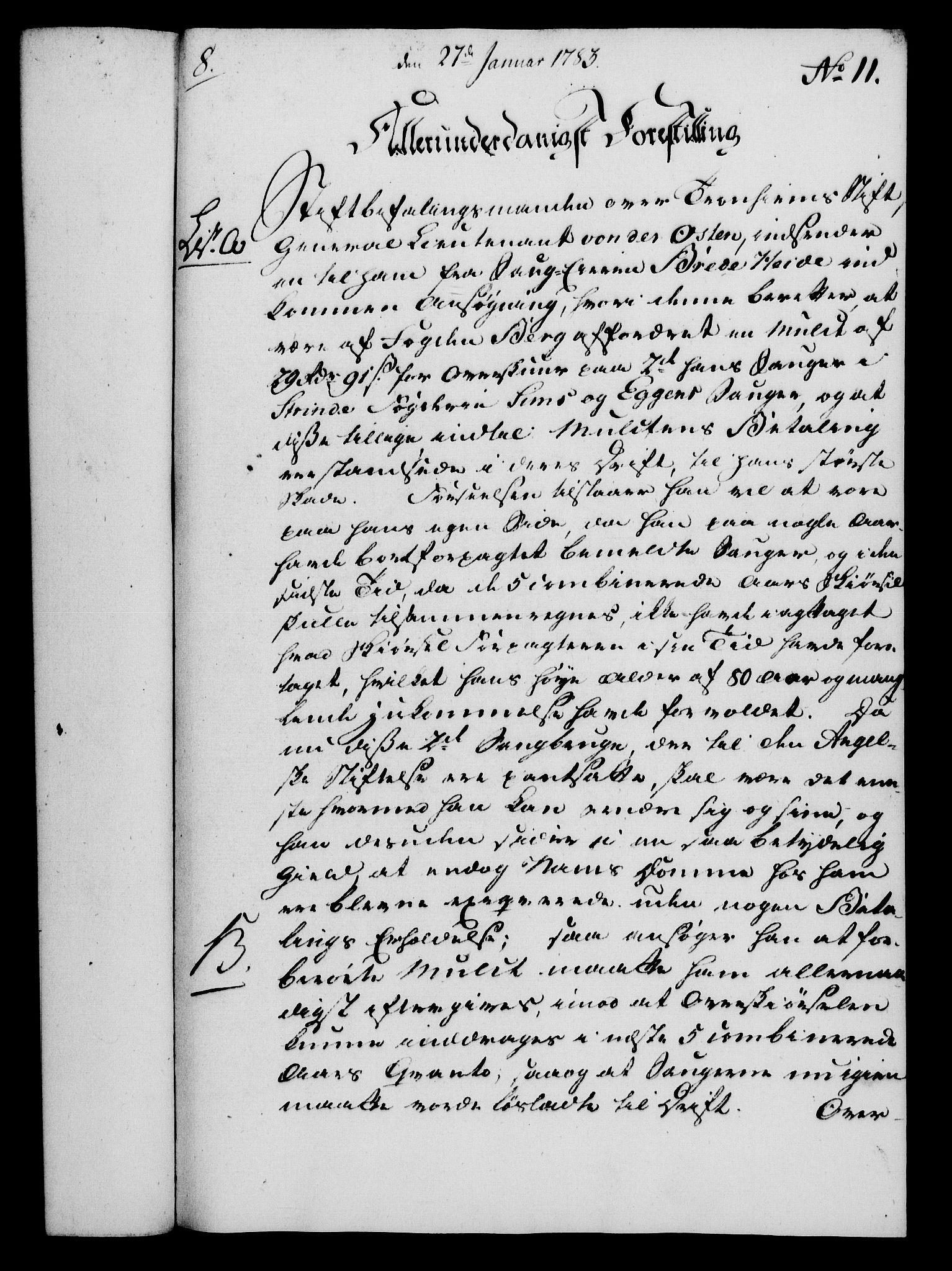 RA, Rentekammeret, Kammerkanselliet, G/Gf/Gfa/L0065: Norsk relasjons- og resolusjonsprotokoll (merket RK 52.65), 1783, s. 83
