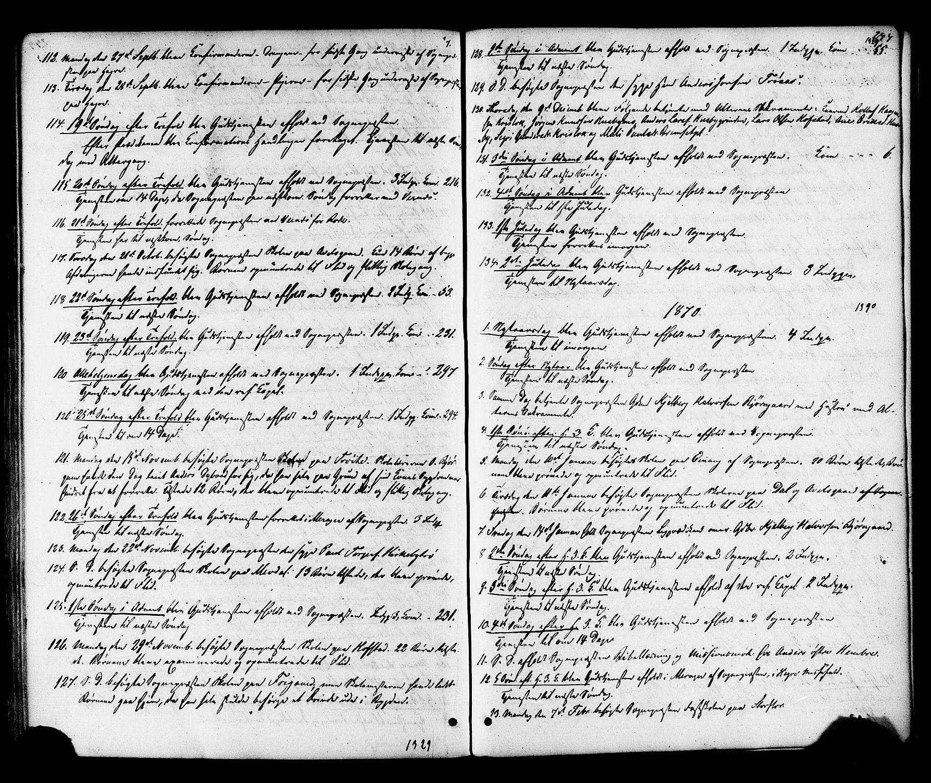 SAT, Ministerialprotokoller, klokkerbøker og fødselsregistre - Nord-Trøndelag, 703/L0029: Ministerialbok nr. 703A02, 1863-1879, s. 244