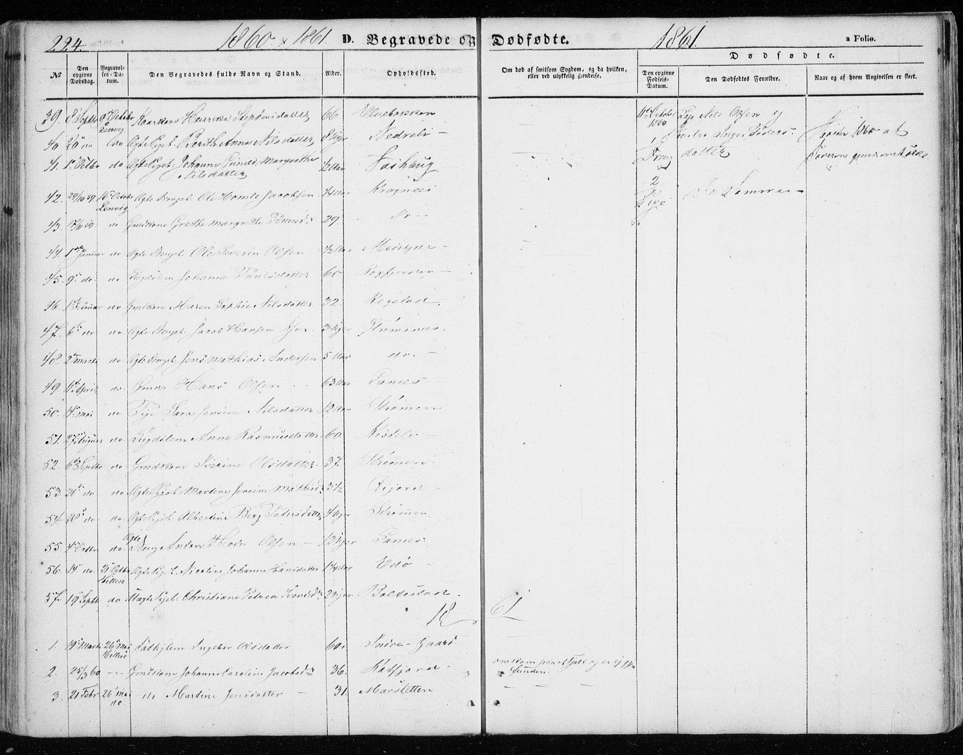 SATØ, Lenvik sokneprestembete, H/Ha: Ministerialbok nr. 7, 1855-1865, s. 224