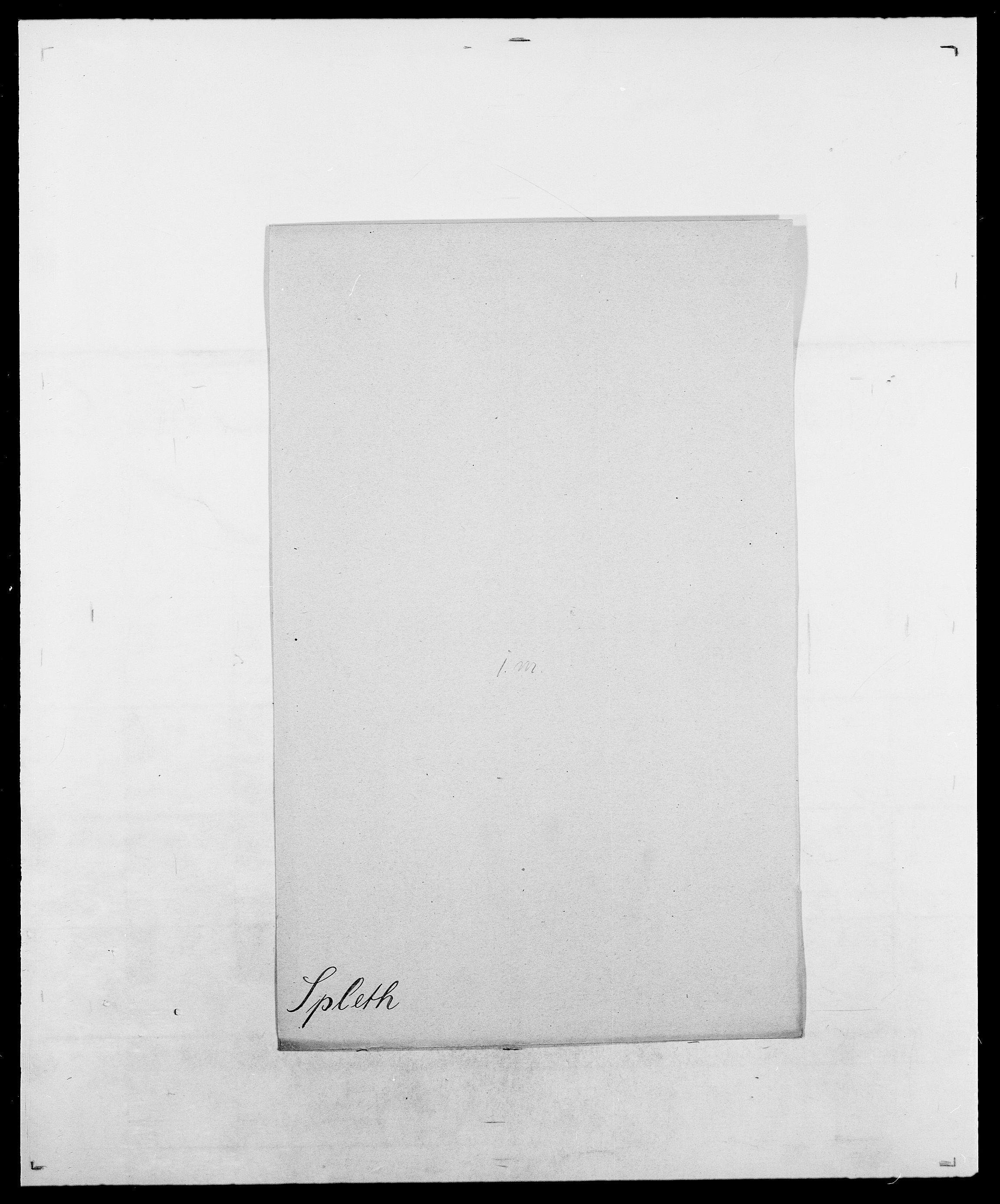 SAO, Delgobe, Charles Antoine - samling, D/Da/L0036: Skaanør - Staverskov, s. 562