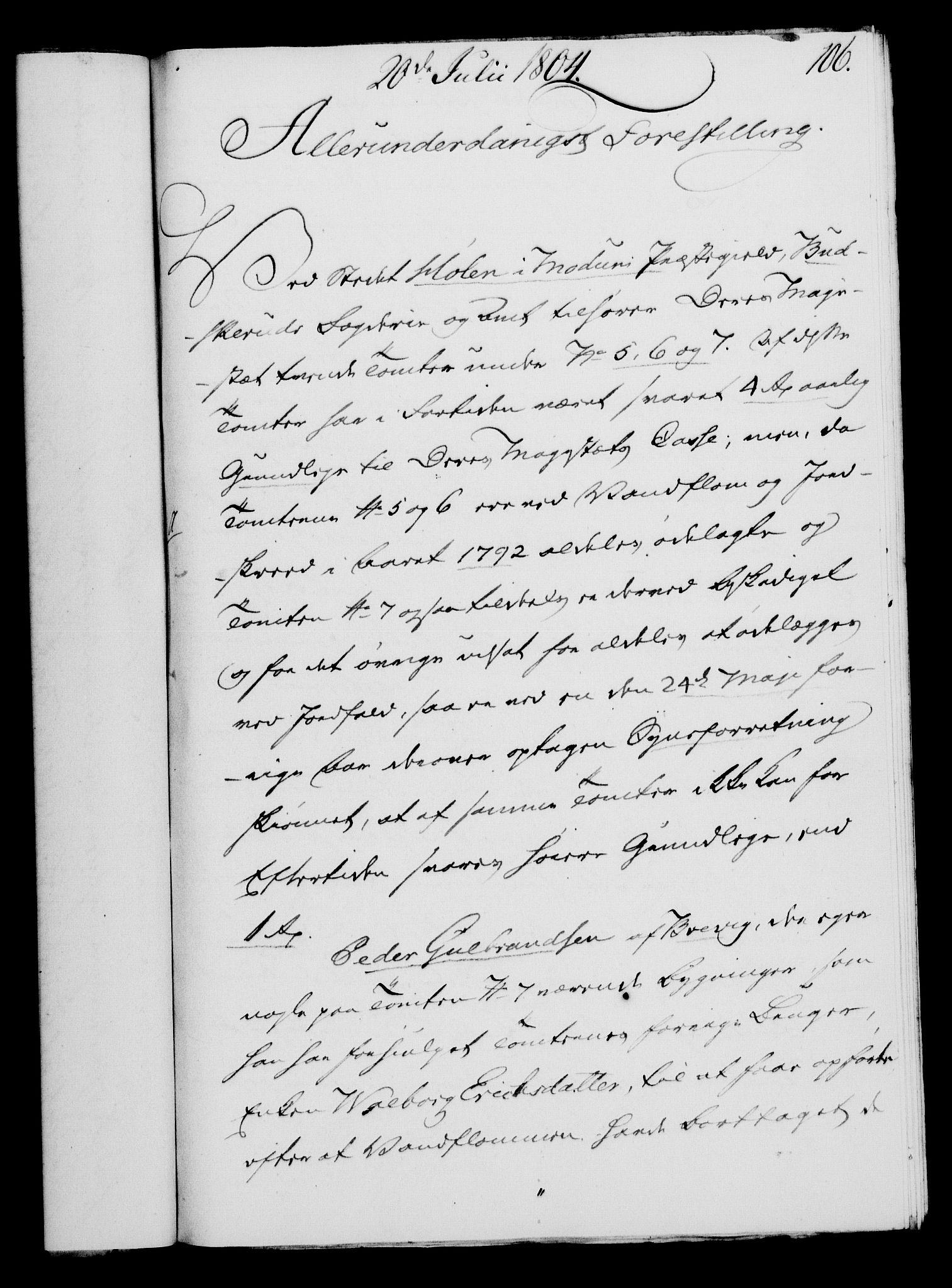 RA, Rentekammeret, Kammerkanselliet, G/Gf/Gfa/L0086: Norsk relasjons- og resolusjonsprotokoll (merket RK 52.86), 1804, s. 623