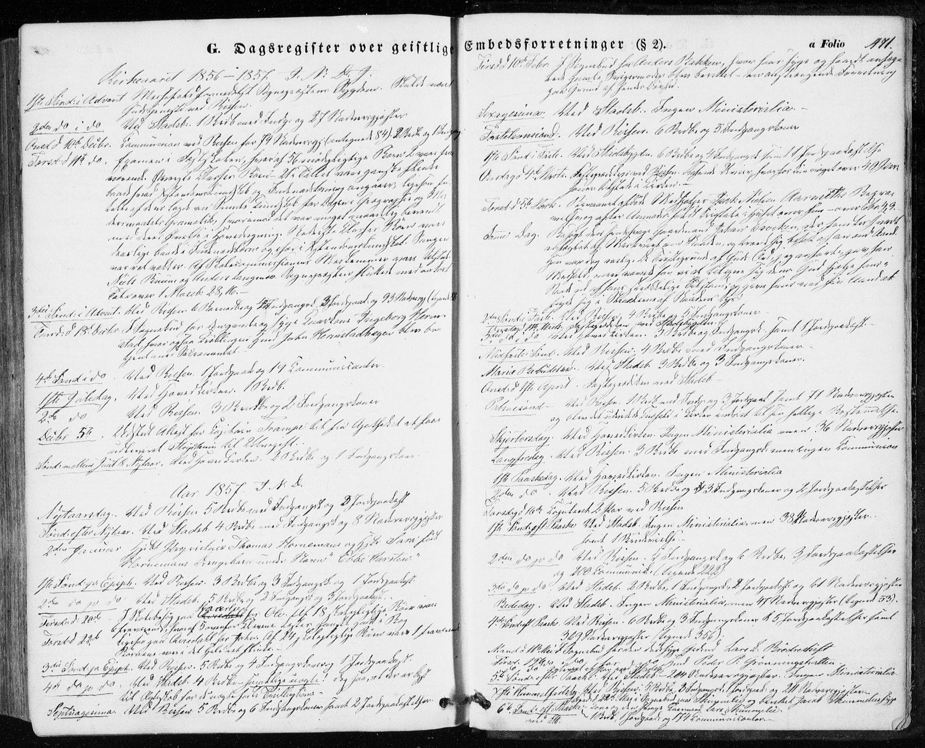 SAT, Ministerialprotokoller, klokkerbøker og fødselsregistre - Sør-Trøndelag, 646/L0611: Ministerialbok nr. 646A09, 1848-1857, s. 471