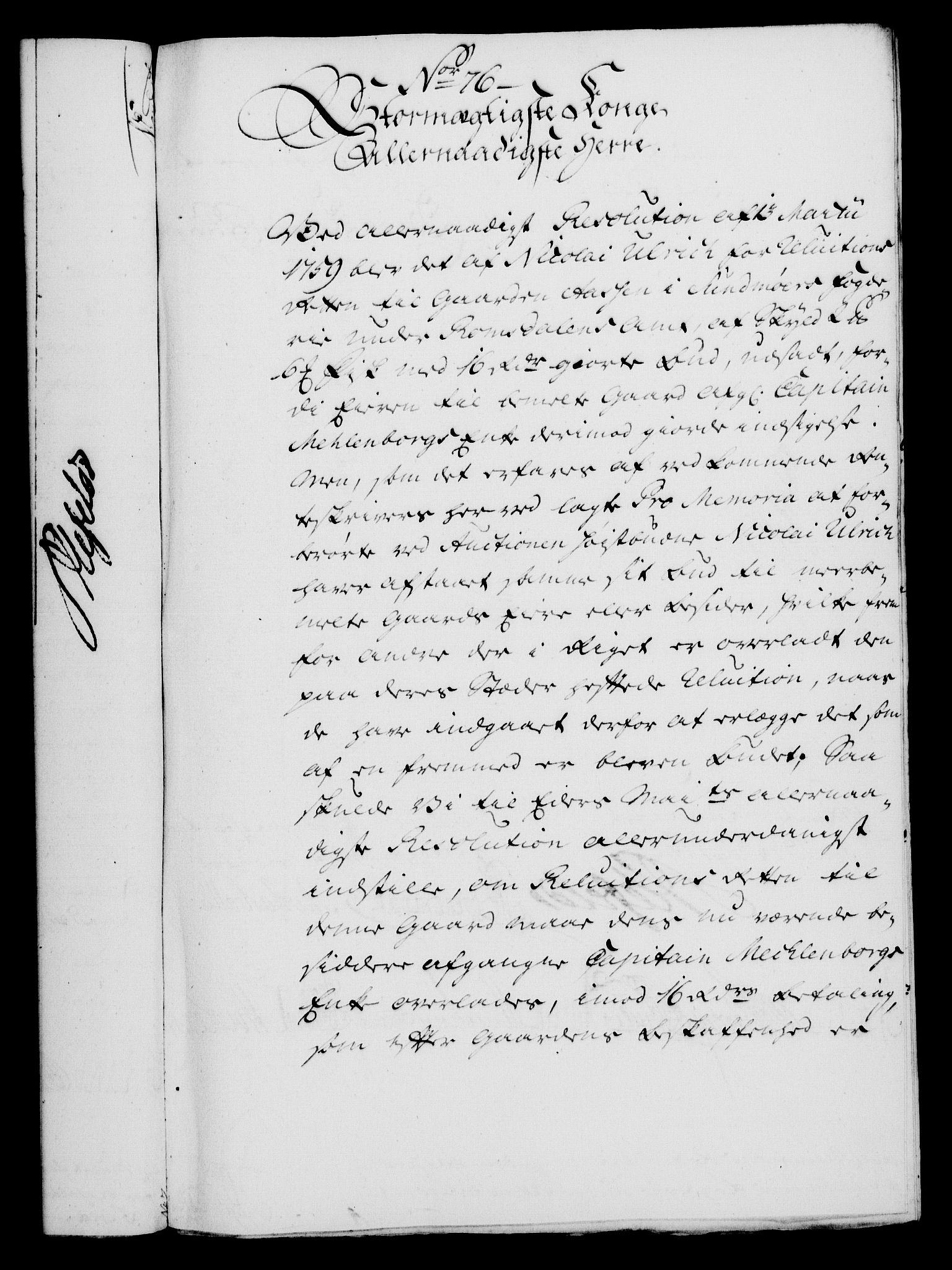 RA, Rentekammeret, Kammerkanselliet, G/Gf/Gfa/L0044: Norsk relasjons- og resolusjonsprotokoll (merket RK 52.44), 1762, s. 301