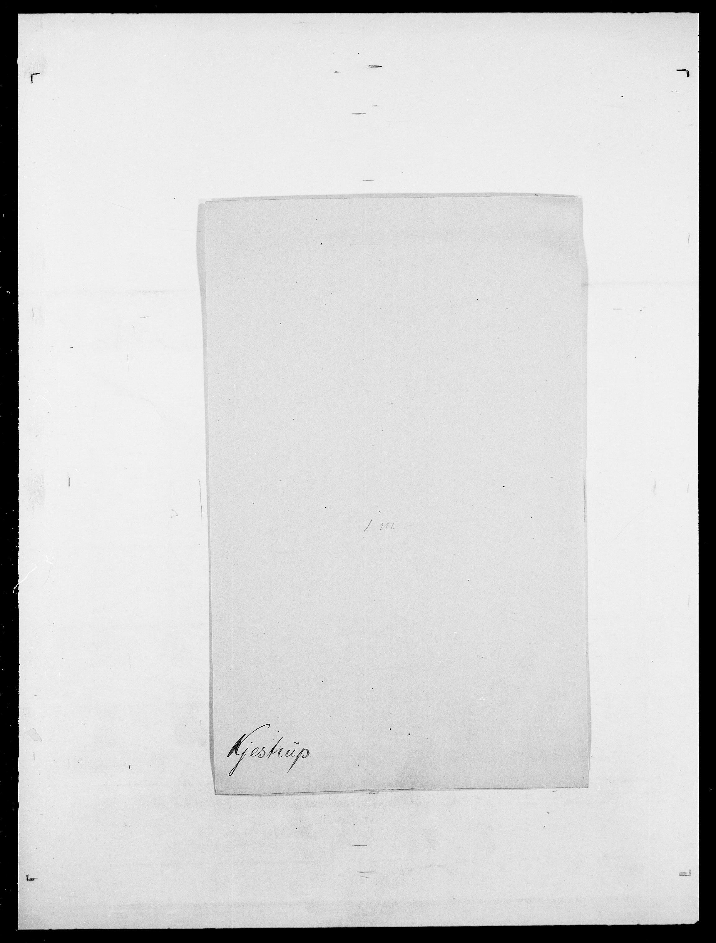 SAO, Delgobe, Charles Antoine - samling, D/Da/L0020: Irgens - Kjøsterud, s. 813