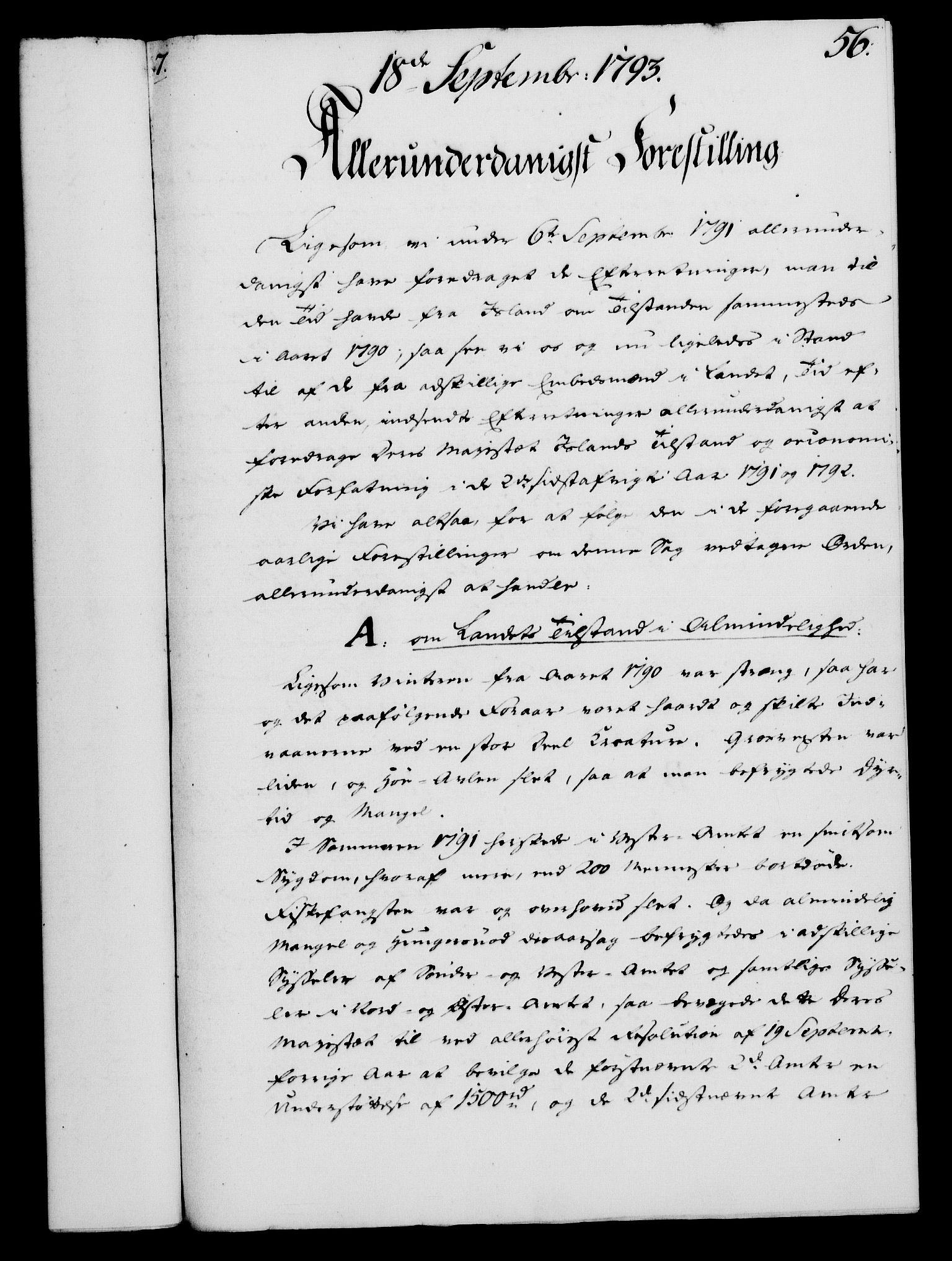 RA, Rentekammeret, Kammerkanselliet, G/Gf/Gfa/L0075: Norsk relasjons- og resolusjonsprotokoll (merket RK 52.75), 1793, s. 261