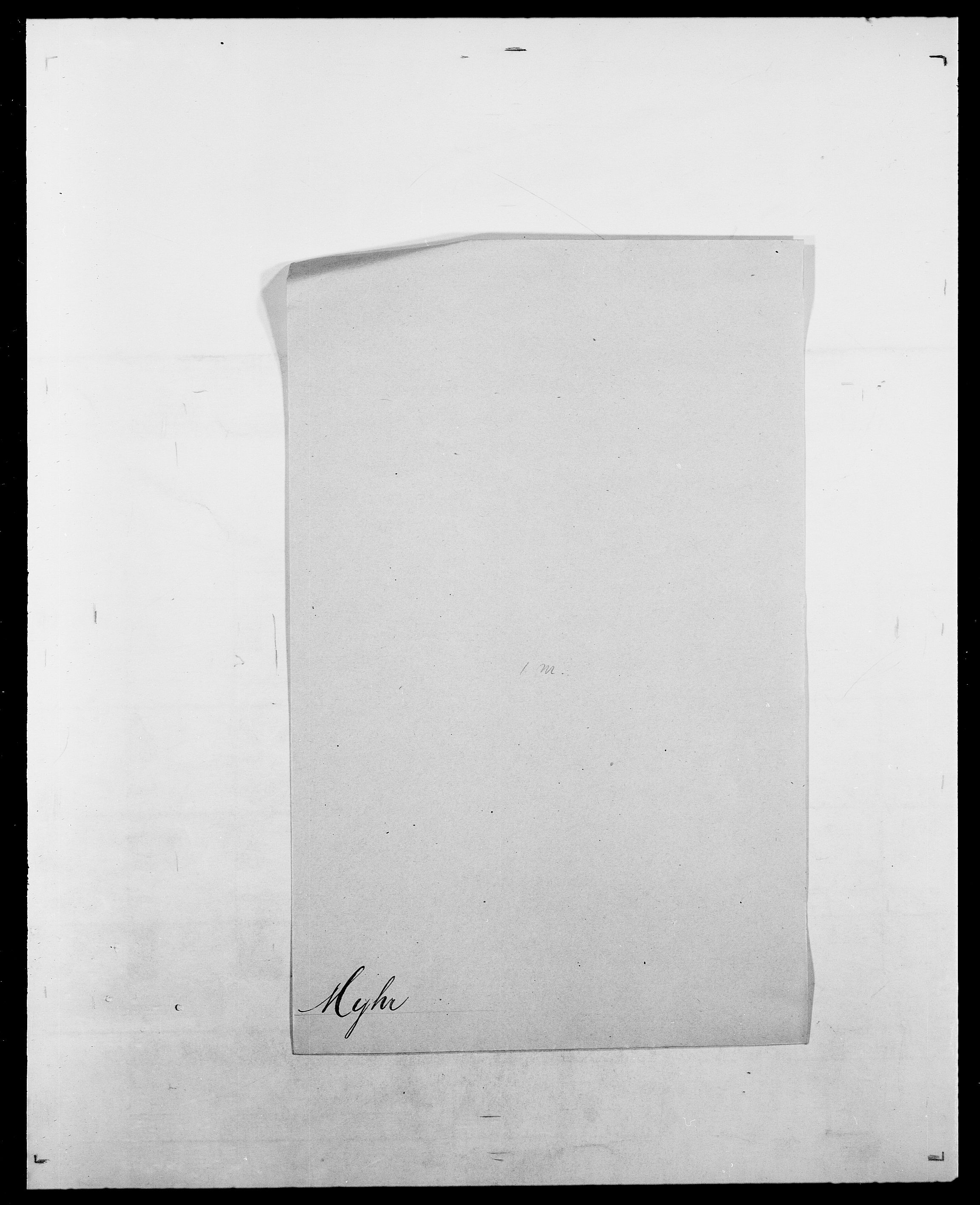 SAO, Delgobe, Charles Antoine - samling, D/Da/L0027: Morath - v. Møsting, s. 334