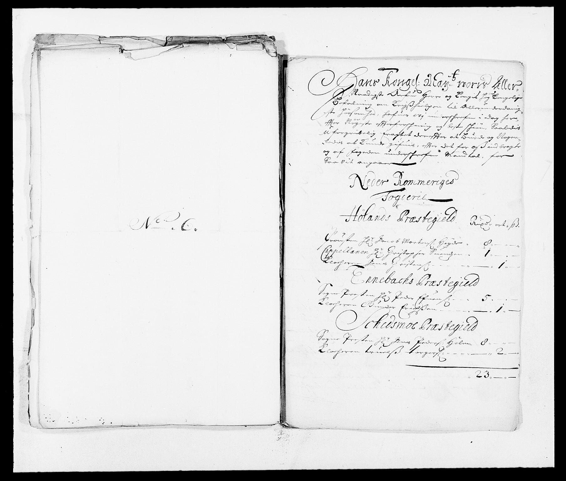 RA, Rentekammeret inntil 1814, Reviderte regnskaper, Fogderegnskap, R11/L0571: Fogderegnskap Nedre Romerike, 1683-1685, s. 134