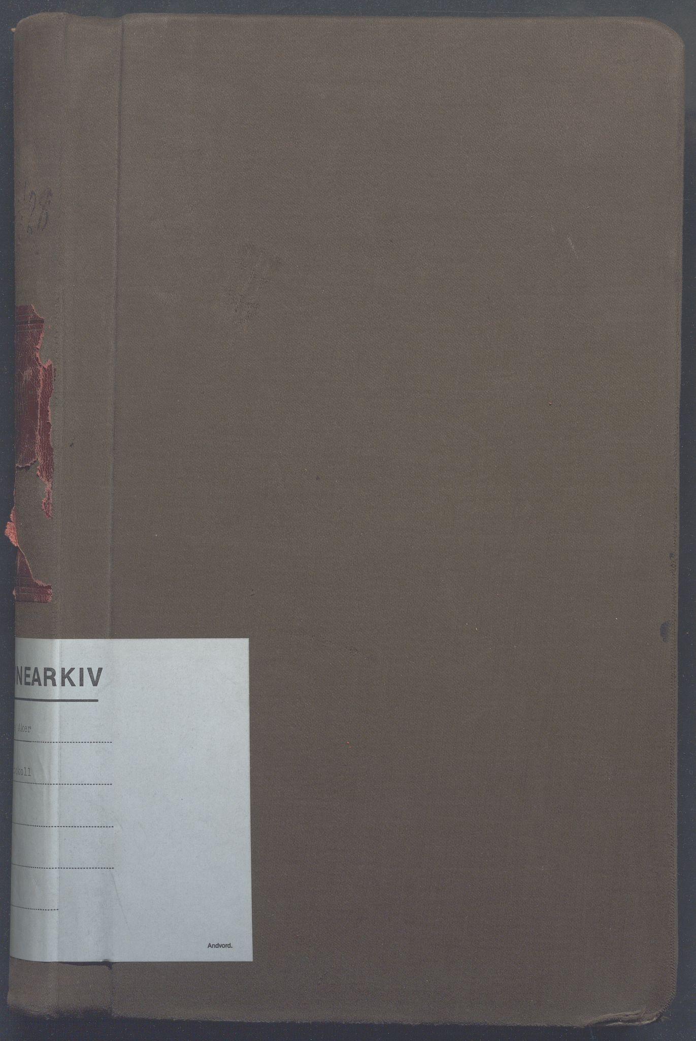 OBA, Lensmennene i Aker, F/Fc/L0023: Branntakstprotokoll, 1925-1928