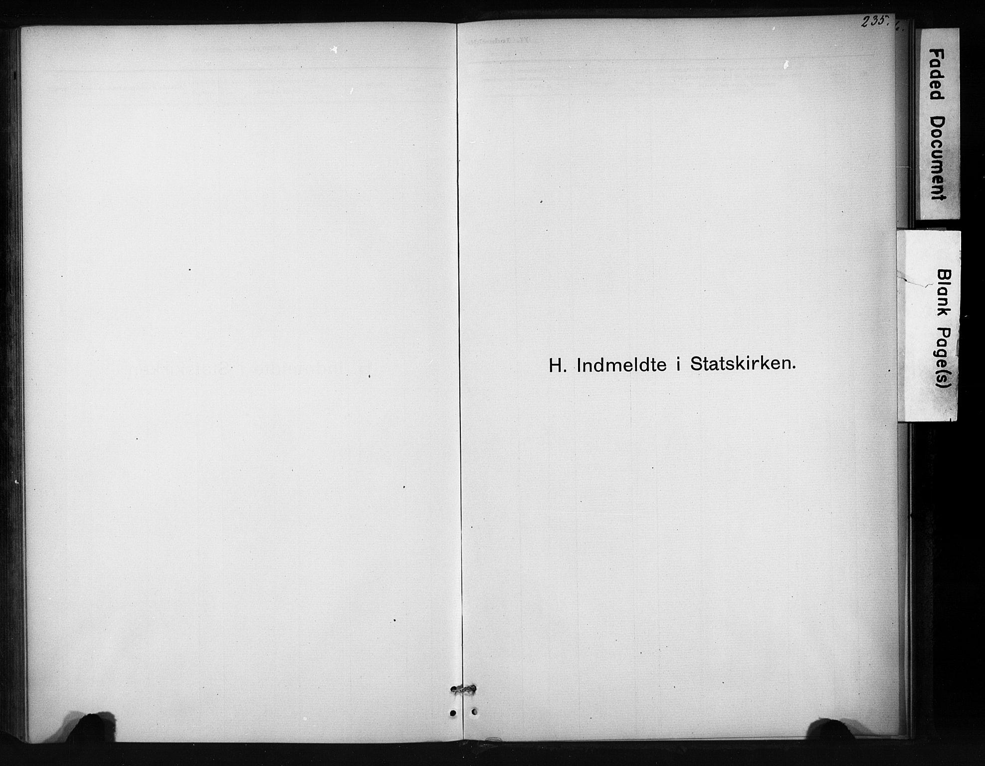 SAT, Ministerialprotokoller, klokkerbøker og fødselsregistre - Sør-Trøndelag, 694/L1127: Ministerialbok nr. 694A01, 1887-1905, s. 235