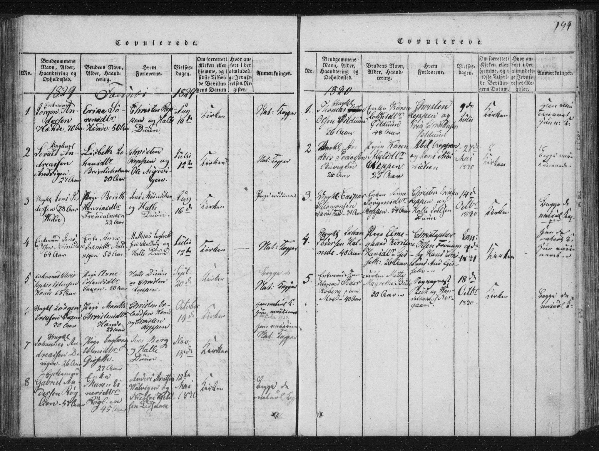 SAT, Ministerialprotokoller, klokkerbøker og fødselsregistre - Nord-Trøndelag, 773/L0609: Ministerialbok nr. 773A03 /1, 1815-1830, s. 194