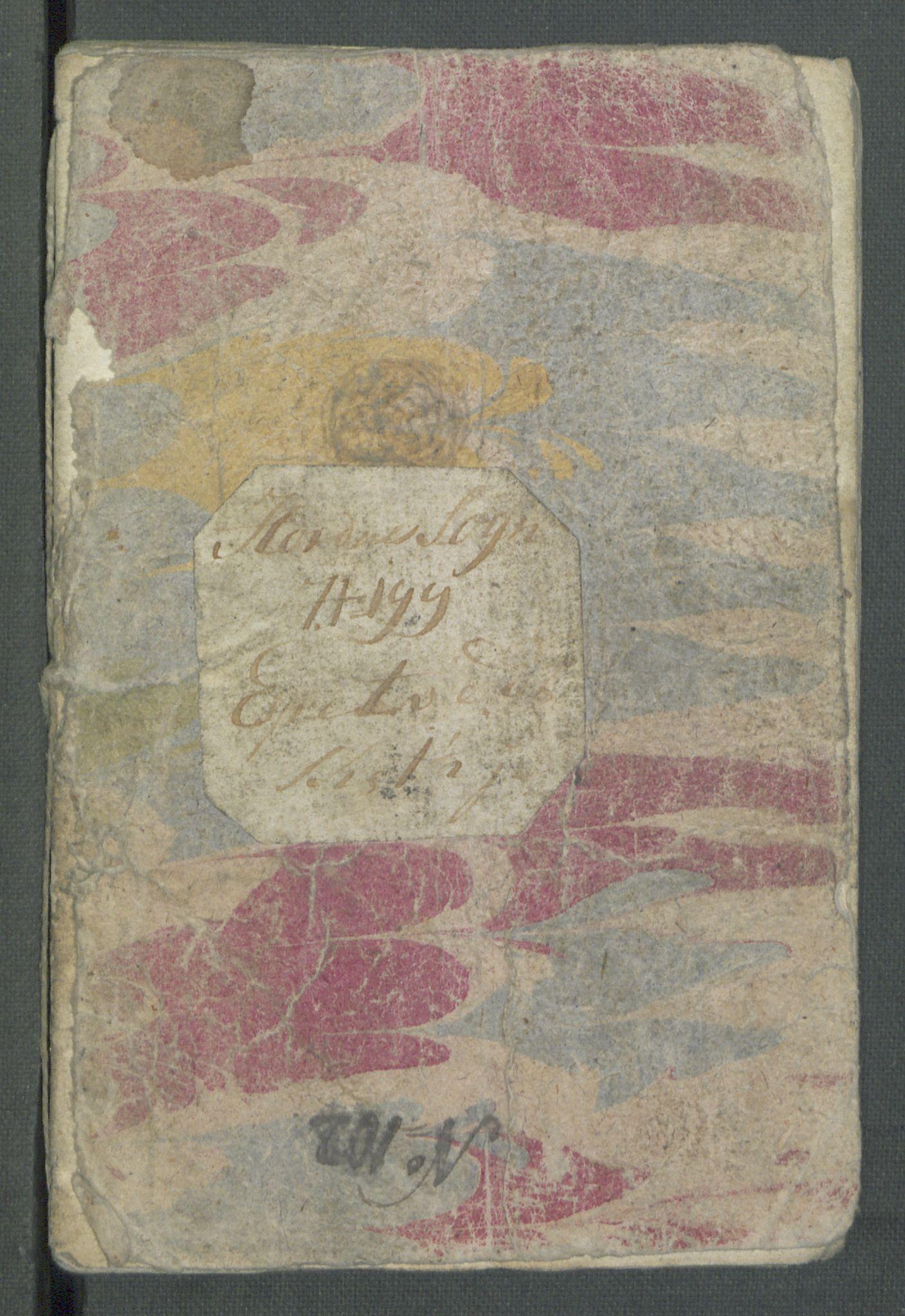 RA, Rentekammeret inntil 1814, Realistisk ordnet avdeling, Od/L0001: Oppløp, 1786-1769, s. 576