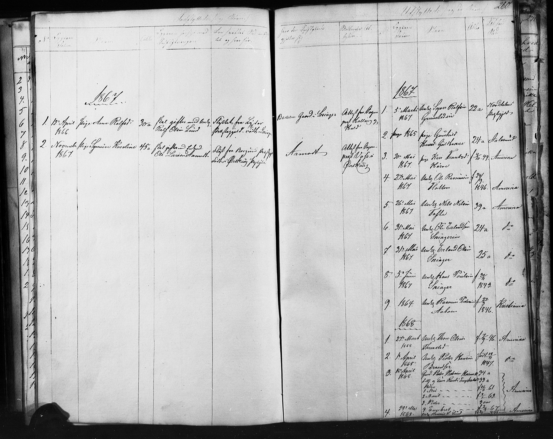SAH, Skjåk prestekontor, Klokkerbok nr. 1, 1865-1893, s. 260