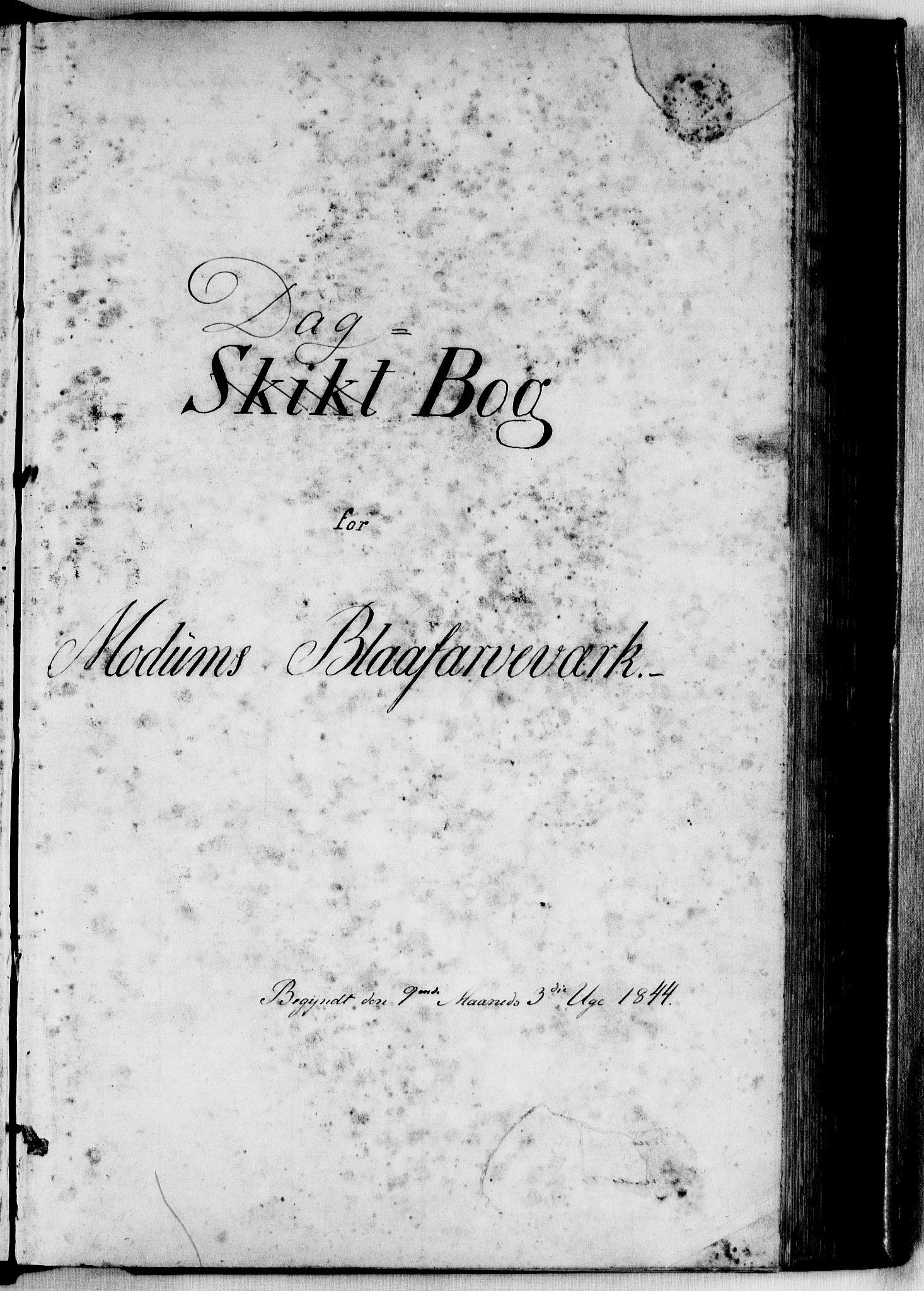 RA, Modums Blaafarveværk, G/Ge/L0310, 1844-1846, s. 2