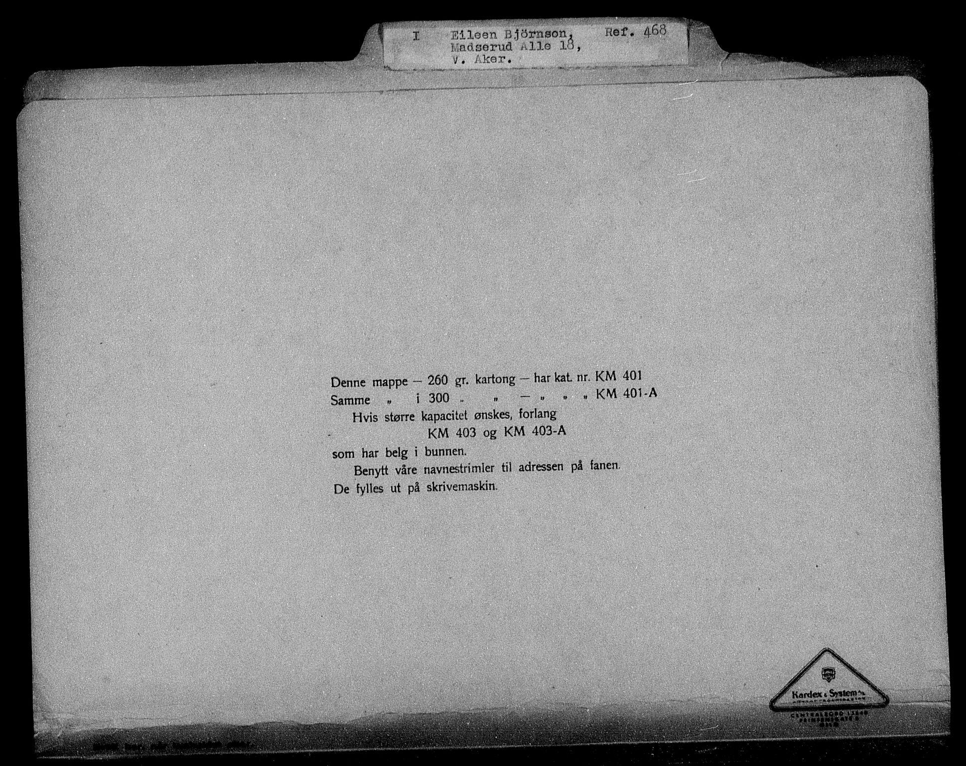 RA, Justisdepartementet, Tilbakeføringskontoret for inndratte formuer, H/Hc/Hcc/L0925: --, 1945-1947, s. 2