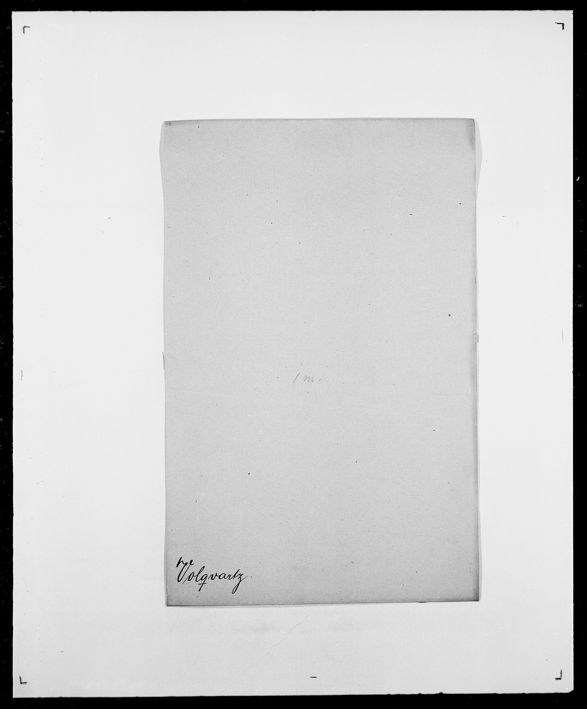 SAO, Delgobe, Charles Antoine - samling, D/Da/L0042: Vilain - Wulf, Wulff, se også Wolf, s. 661