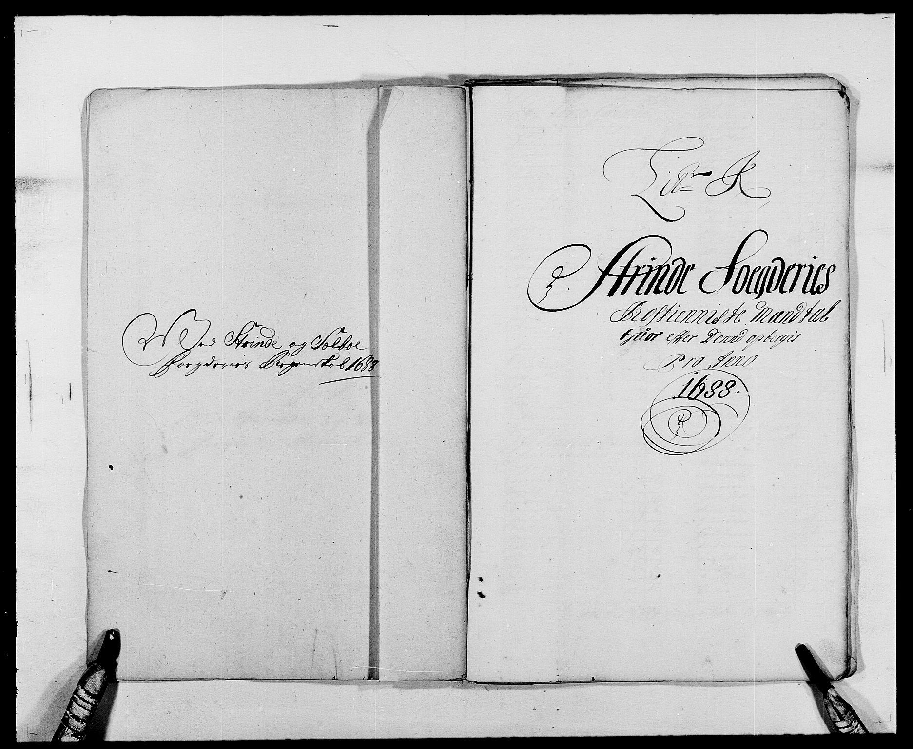 RA, Rentekammeret inntil 1814, Reviderte regnskaper, Fogderegnskap, R61/L4101: Fogderegnskap Strinda og Selbu, 1687-1688, s. 214