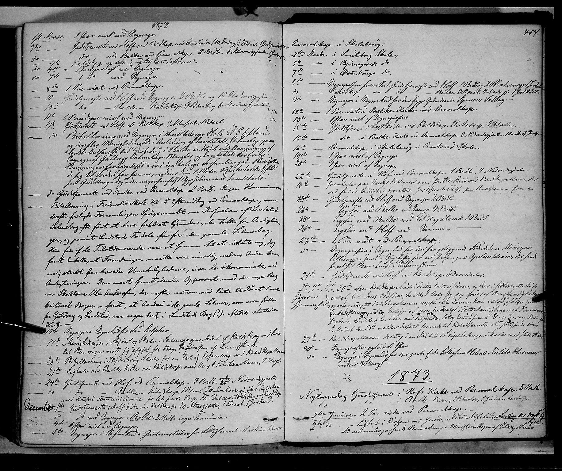 SAH, Østre Toten prestekontor, Ministerialbok nr. 5, 1866-1877, s. 457