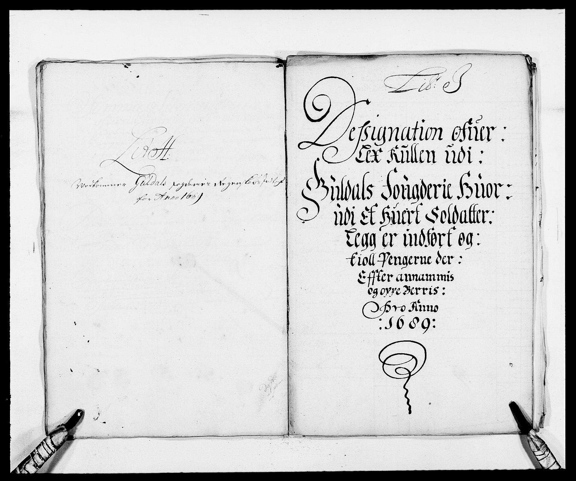RA, Rentekammeret inntil 1814, Reviderte regnskaper, Fogderegnskap, R59/L3940: Fogderegnskap Gauldal, 1689-1690, s. 92