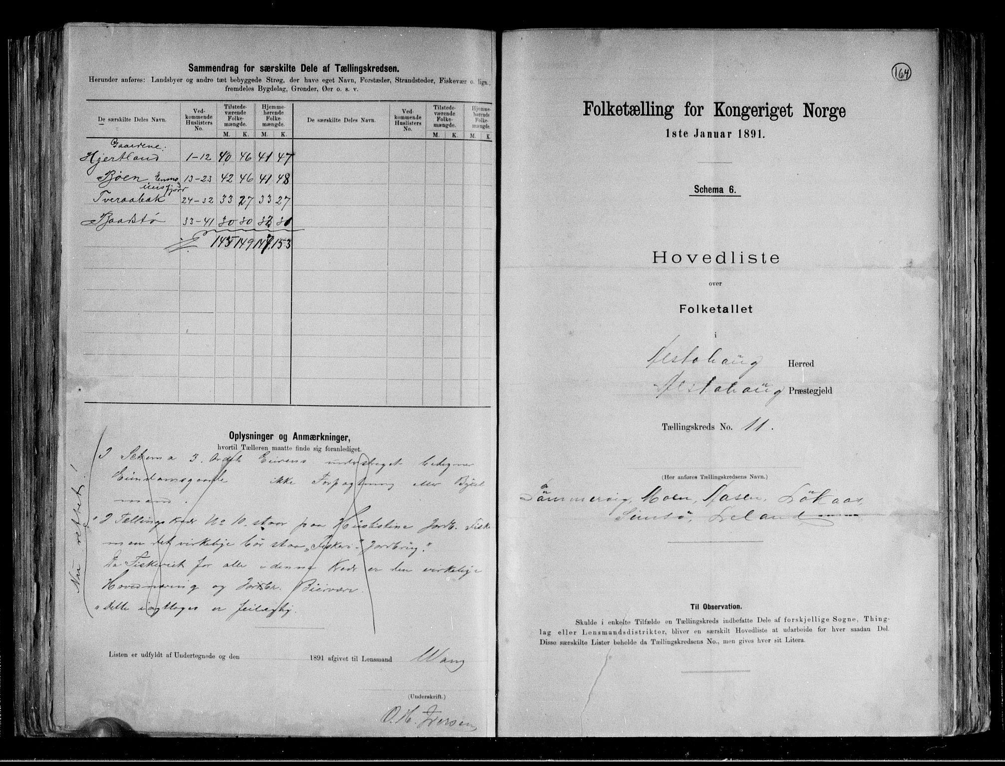 RA, Folketelling 1891 for 1820 Alstahaug herred, 1891, s. 26