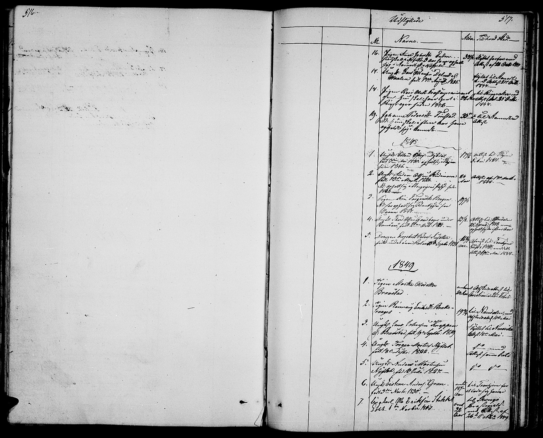 SAH, Ringebu prestekontor, Klokkerbok nr. 2, 1839-1853, s. 516-517