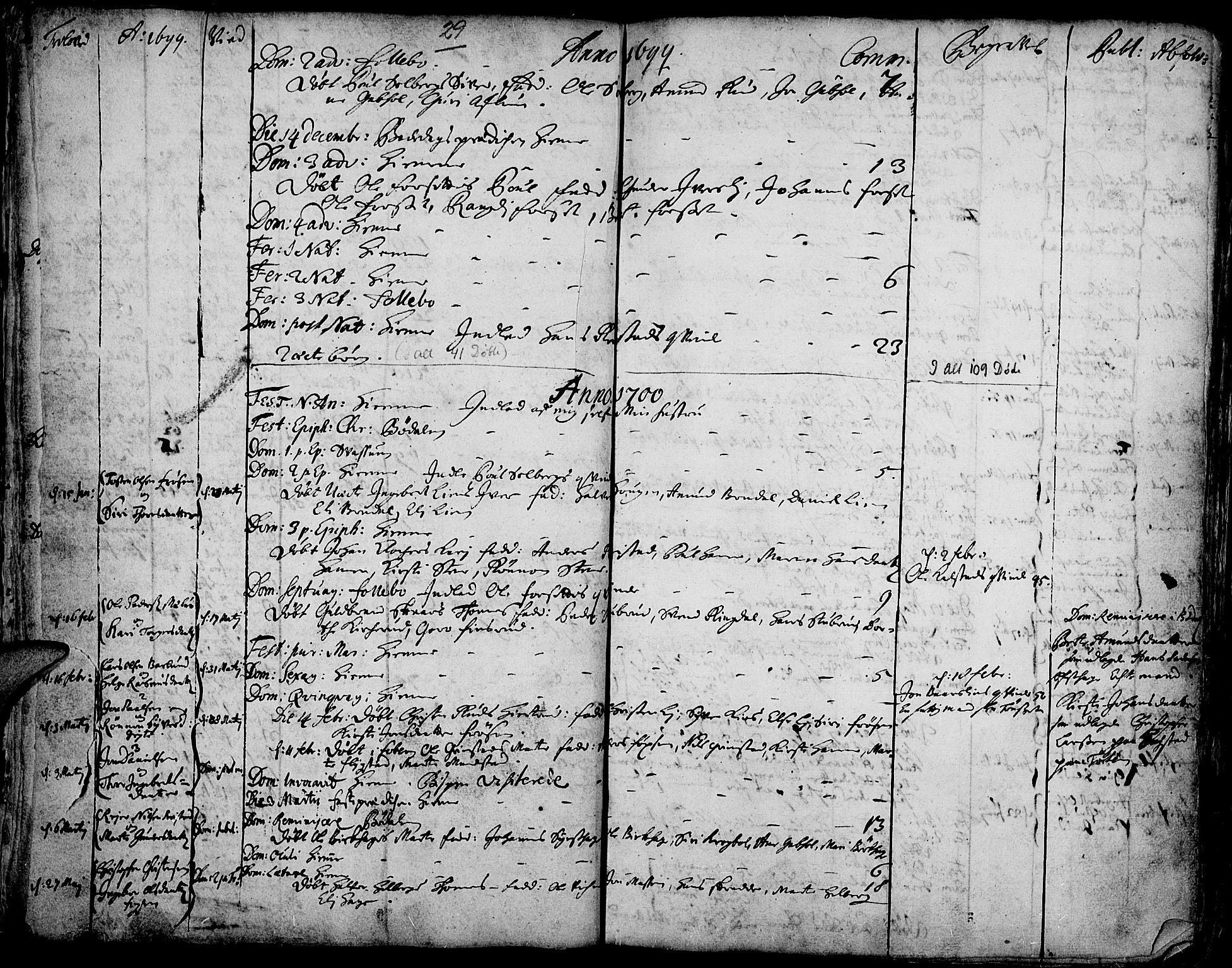 SAH, Gausdal prestekontor, Ministerialbok nr. 1, 1693-1728, s. 29