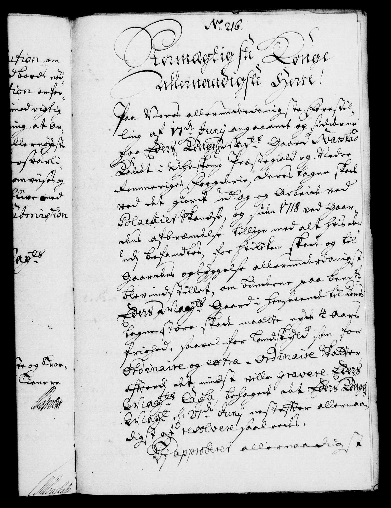 RA, Rentekammeret, Kammerkanselliet, G/Gf/Gfa/L0004: Norsk relasjons- og resolusjonsprotokoll (merket RK 52.4), 1721, s. 1457