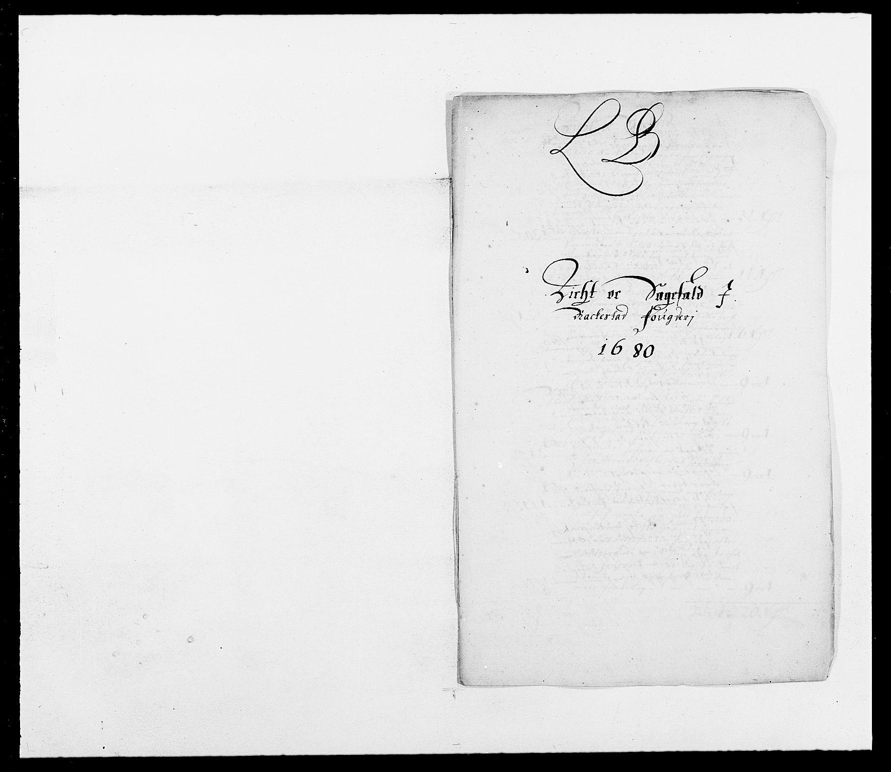 RA, Rentekammeret inntil 1814, Reviderte regnskaper, Fogderegnskap, R05/L0272: Fogderegnskap Rakkestad, 1680-1681, s. 73