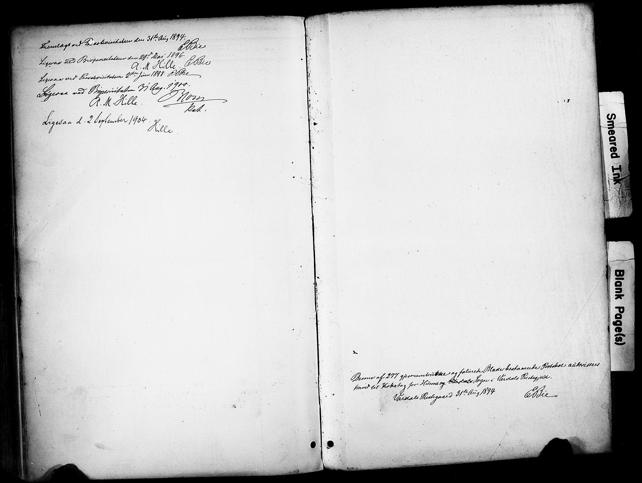 SAH, Vardal prestekontor, H/Ha/Haa/L0012: Ministerialbok nr. 12, 1893-1904, s. 270