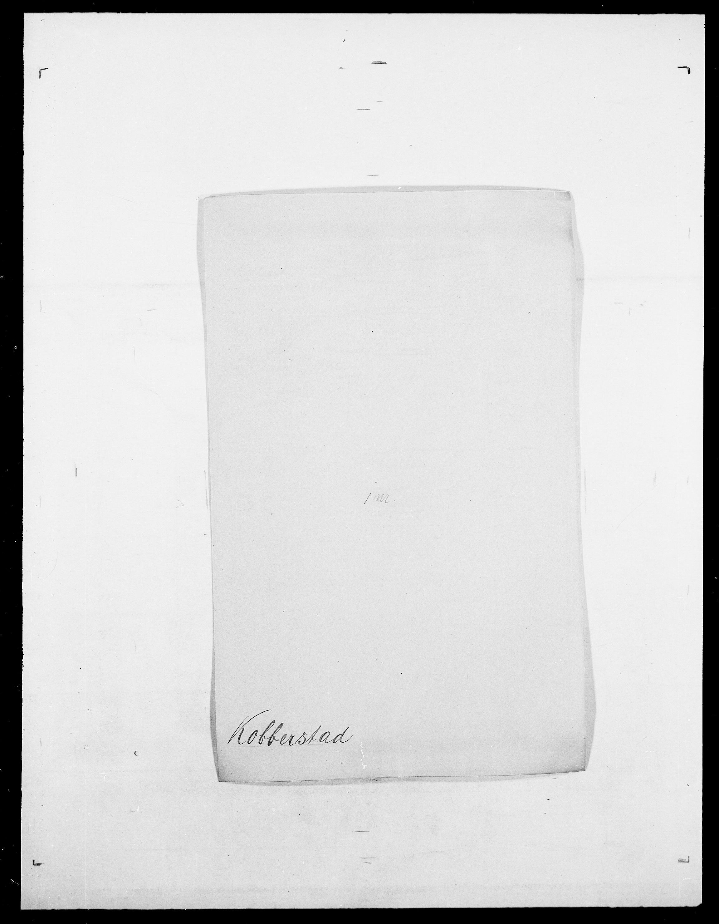 SAO, Delgobe, Charles Antoine - samling, D/Da/L0021: Klagenberg - Kristoft, s. 404
