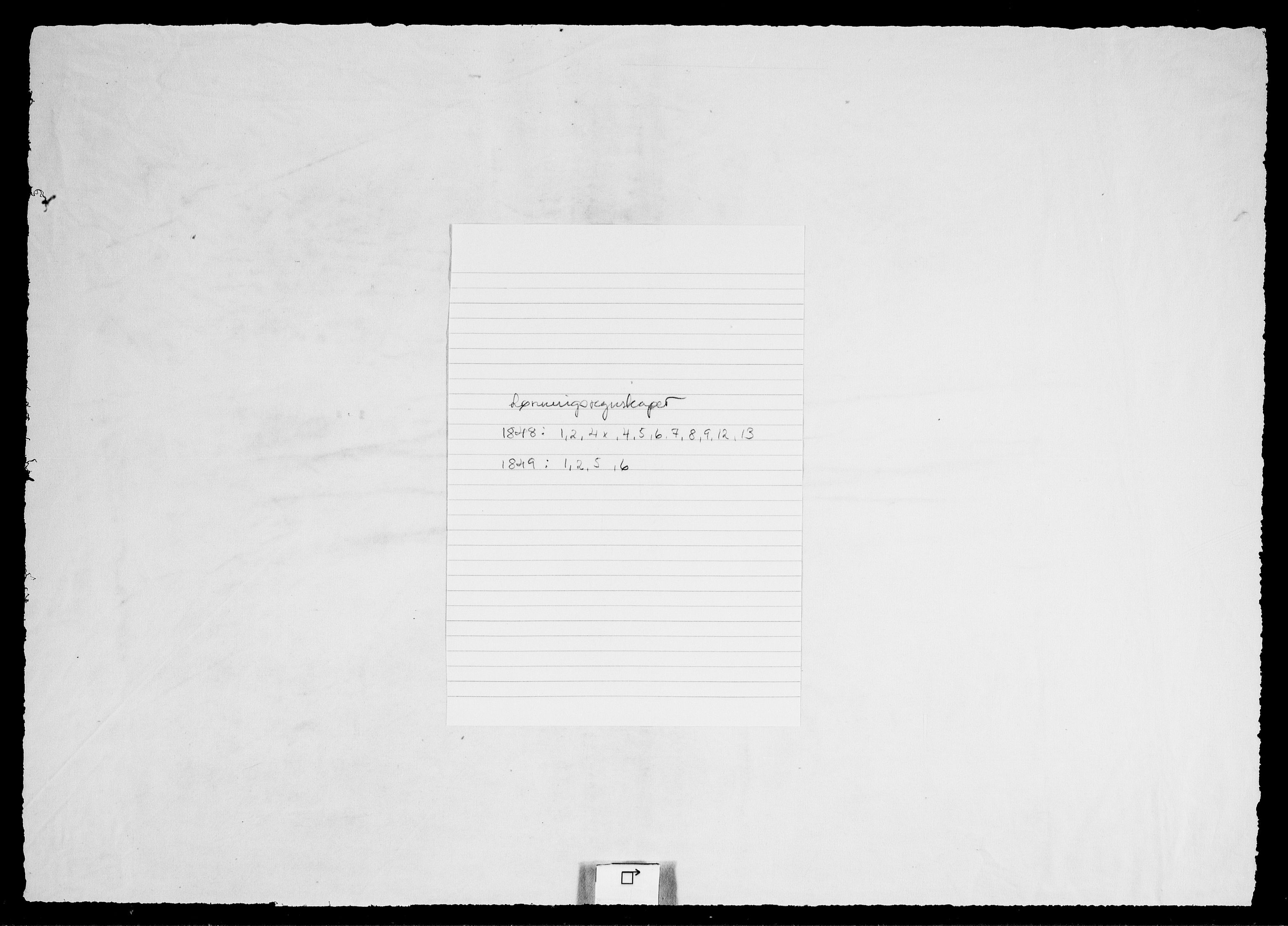 RA, Modums Blaafarveværk, G/Gd/Gdd/L0284, 1848-1849, s. 2