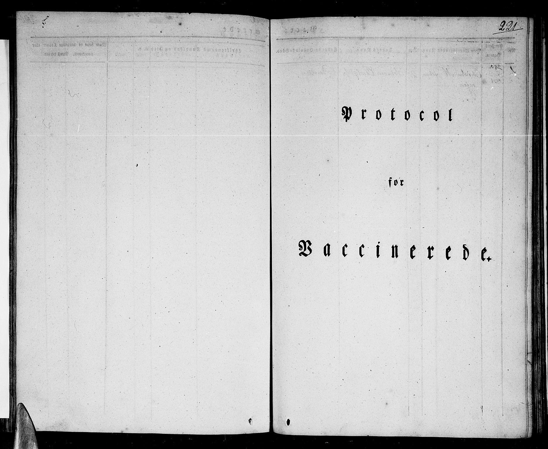SAT, Ministerialprotokoller, klokkerbøker og fødselsregistre - Nordland, 801/L0006: Ministerialbok nr. 801A06, 1834-1845, s. 221