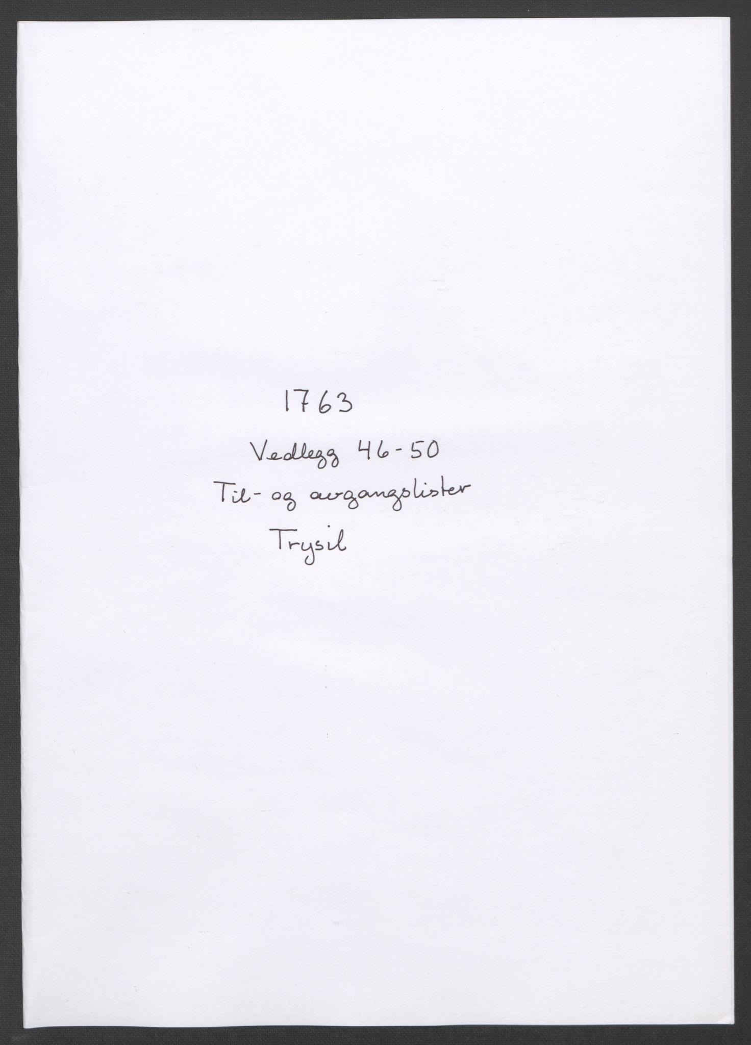 RA, Rentekammeret inntil 1814, Reviderte regnskaper, Fogderegnskap, R14/L0959: Ekstraskatten Solør og Odal, 1763-1770, s. 192
