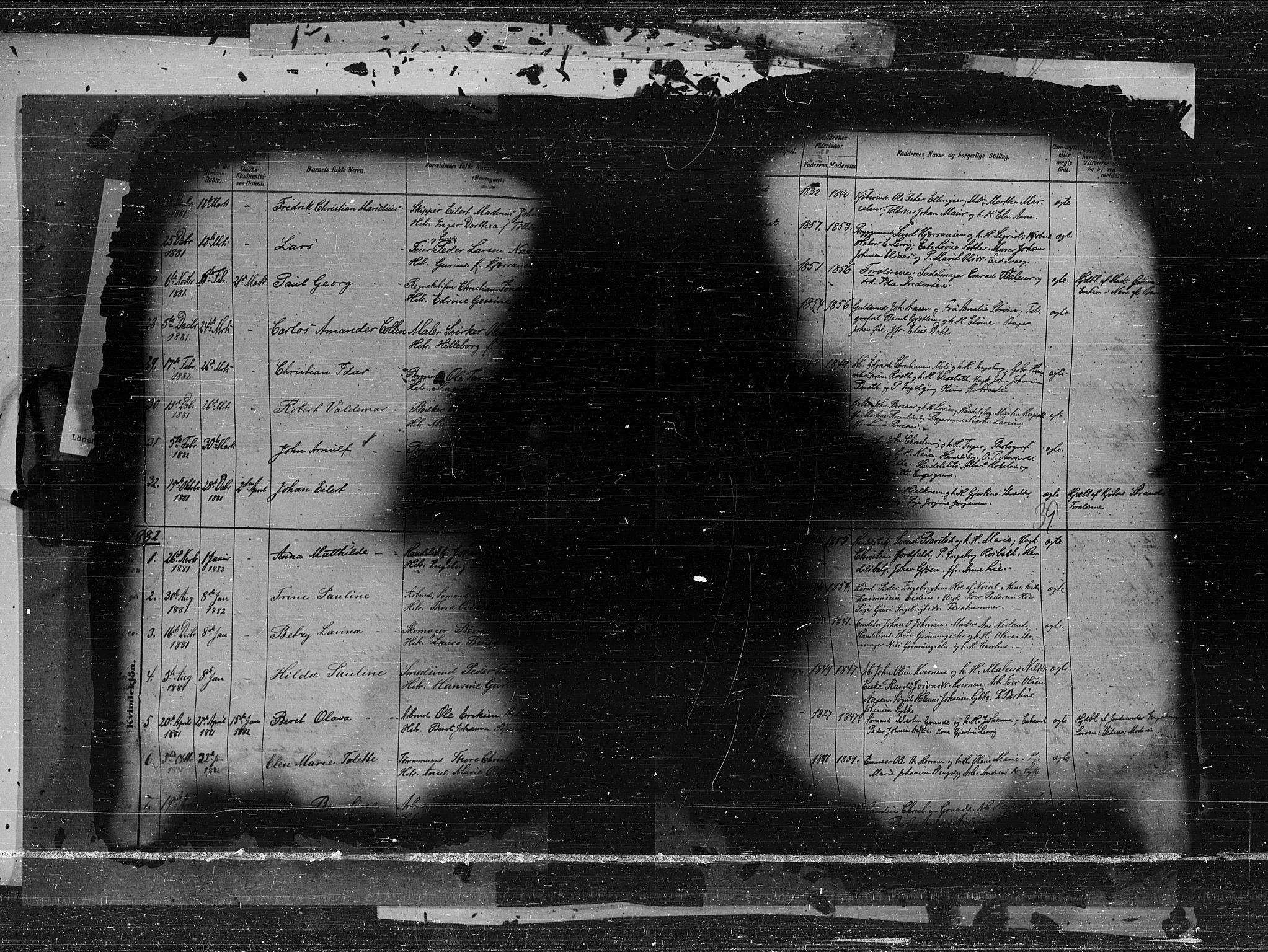 SAT, Ministerialprotokoller, klokkerbøker og fødselsregistre - Møre og Romsdal, 572/L0850: Ministerialbok nr. 572A13, 1880-1888, s. 39