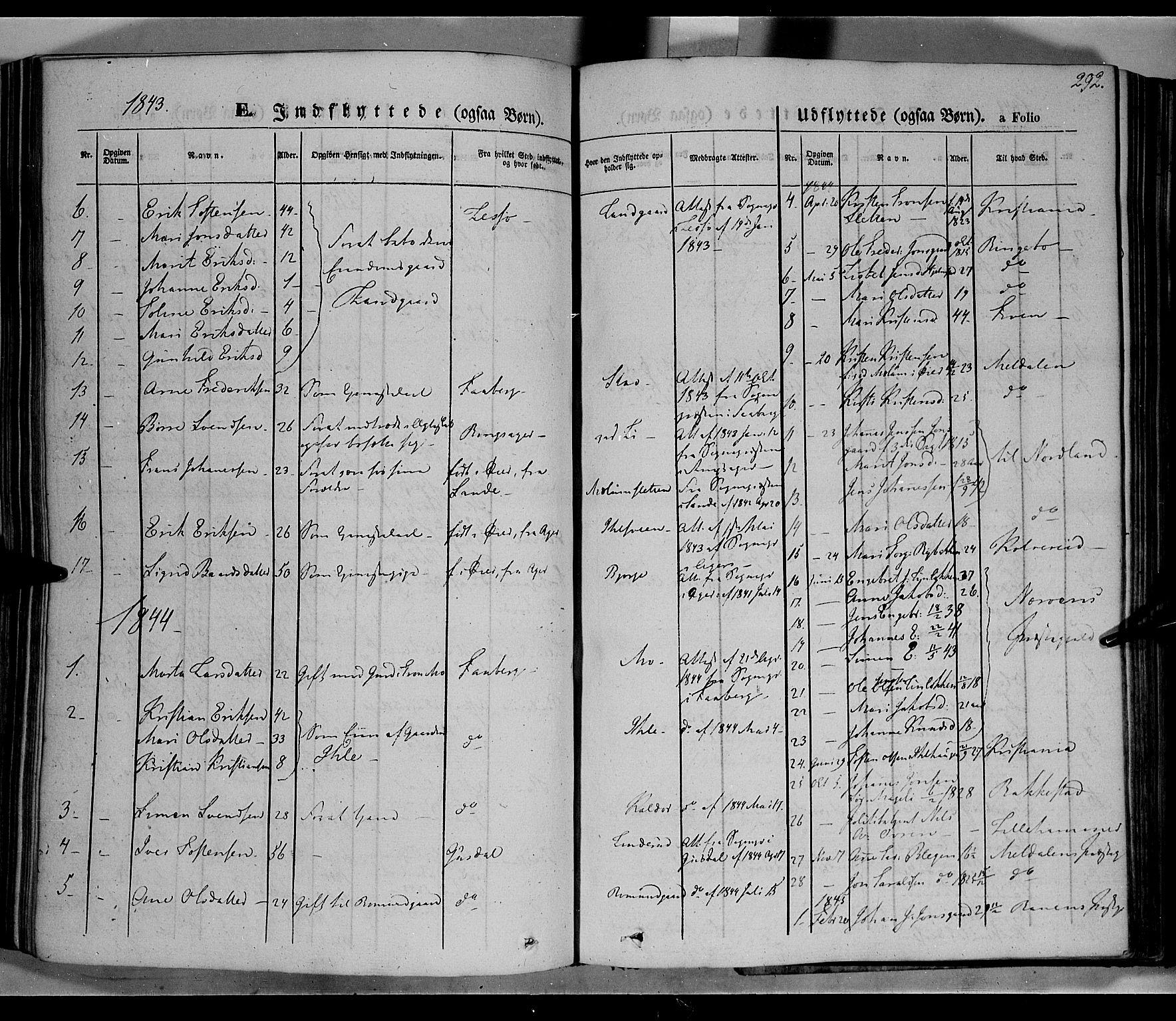 SAH, Øyer prestekontor, Ministerialbok nr. 5, 1842-1857, s. 292
