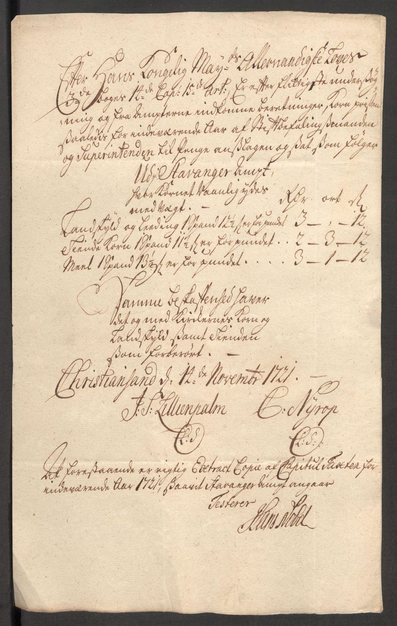 RA, Rentekammeret inntil 1814, Reviderte regnskaper, Fogderegnskap, R48/L3000: Fogderegnskap Sunnhordland og Hardanger, 1721, s. 395