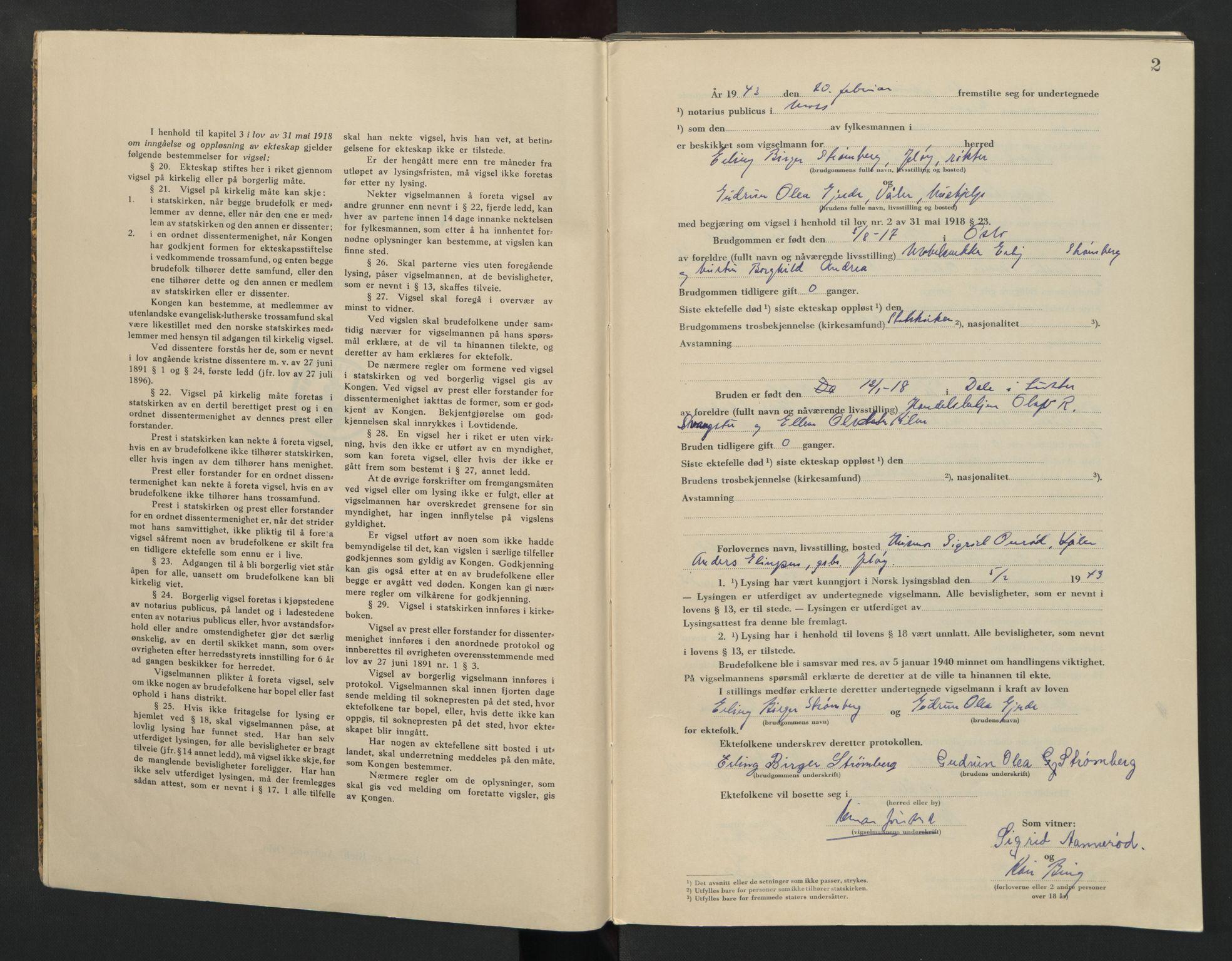 SAO, Moss sorenskriveri, 1943, s. 2