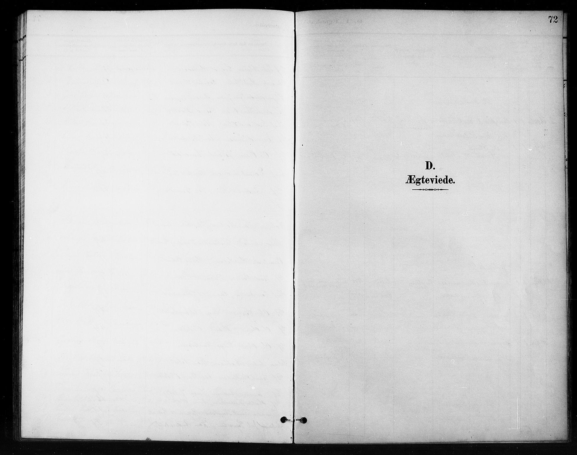 SAH, Nord-Aurdal prestekontor, Klokkerbok nr. 11, 1897-1918, s. 72