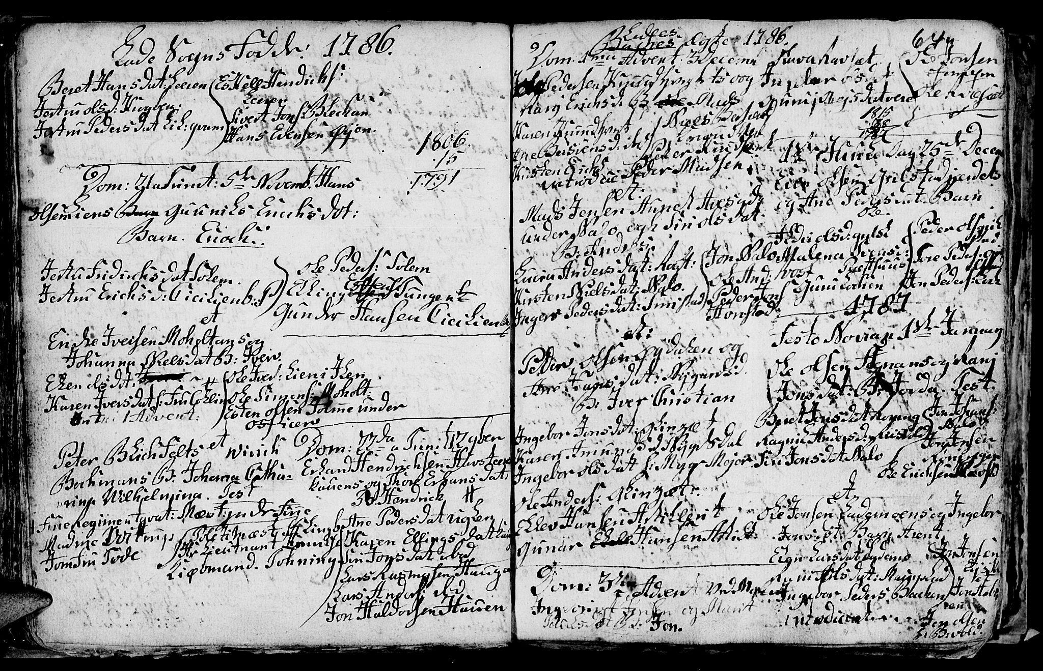 SAT, Ministerialprotokoller, klokkerbøker og fødselsregistre - Sør-Trøndelag, 606/L0305: Klokkerbok nr. 606C01, 1757-1819, s. 64