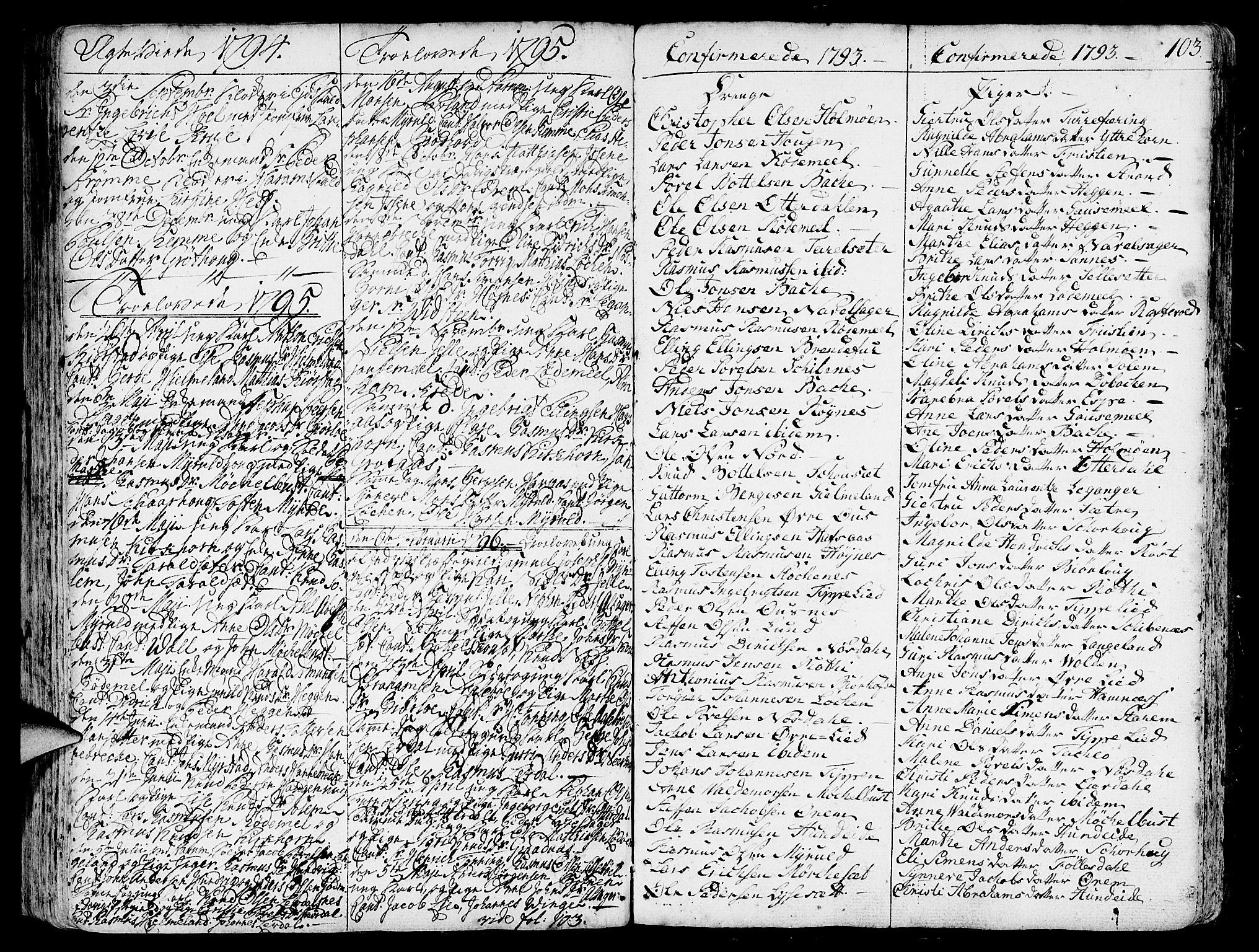 SAB, Eid Sokneprestembete, H/Haa: Ministerialbok nr. A 3, 1770-1805, s. 103