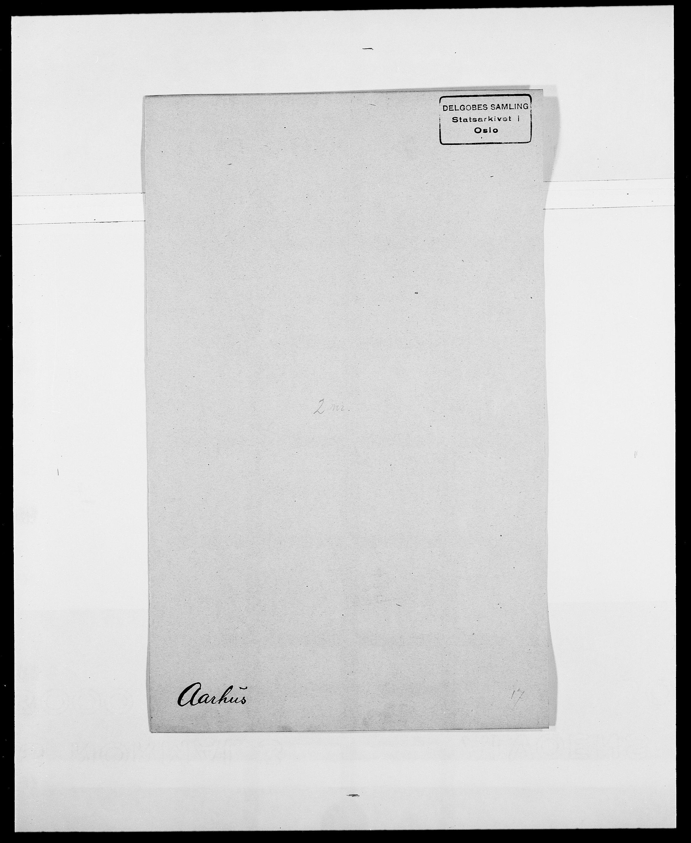 SAO, Delgobe, Charles Antoine - samling, D/Da/L0001: Aabye - Angerman, s. 97
